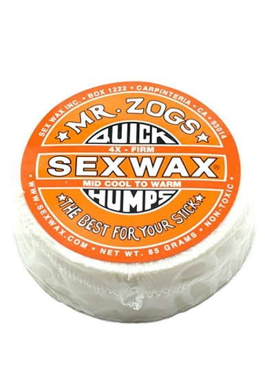 Sex wax cold water