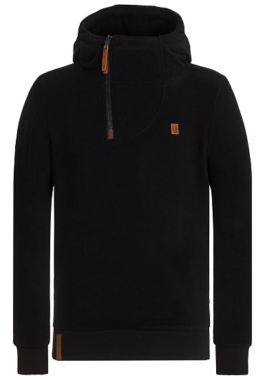 Naketano Onanier Mir Hier Iii - Sweat À Capuche En Jersey Pour Les Hommes - Noir jeu exclusif vente Boutique eastbay à vendre drop shipping pas cher Finishline QS3BpMnt