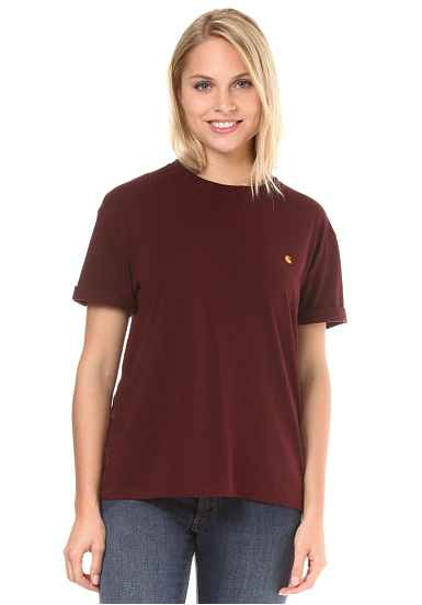 Carhartt Wip Chase - Shirt Pour Les Femmes - Rouge