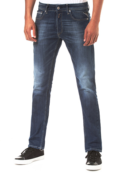 Replay Grover - Jeans Pour Hommes - Bleu