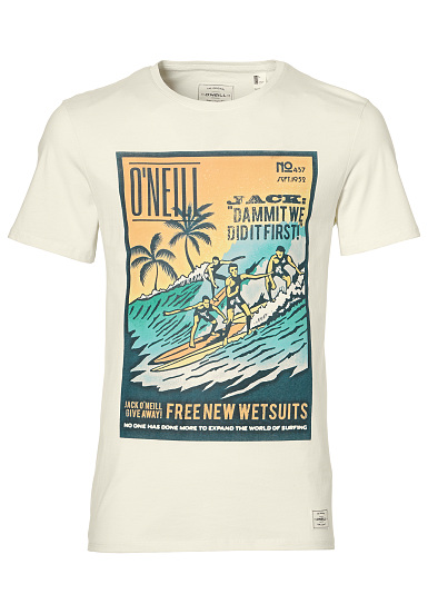jeu en Chine Oneill Photo Throwback - Shirt Homme - Blanc sneakernews discount ivGjHv
