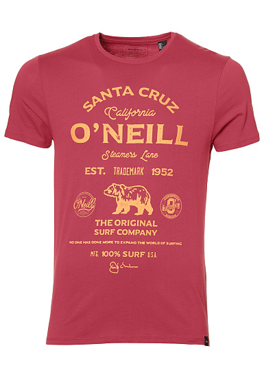 Oneill Muir - Shirt Pour Les Hommes - Rouge