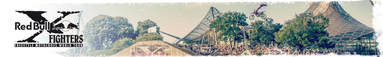 Brandheader RedBull X-FIGHTERS