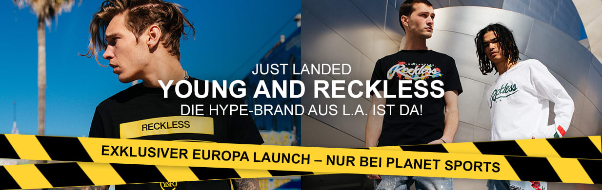 Young & Reckless Premium Brand Banner