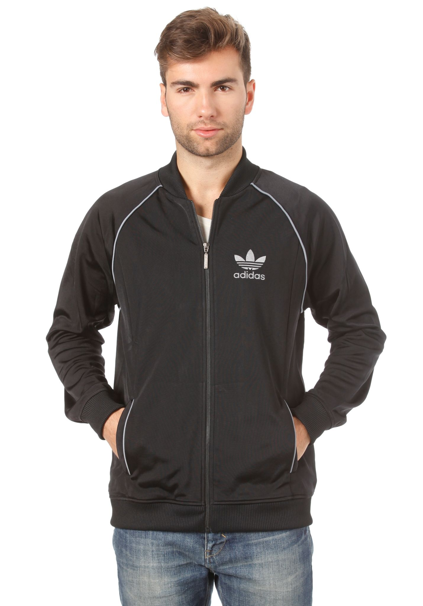 Superstar Herren Jacket Für Originals Adidas Track Top Sweatjacke TpT56vq