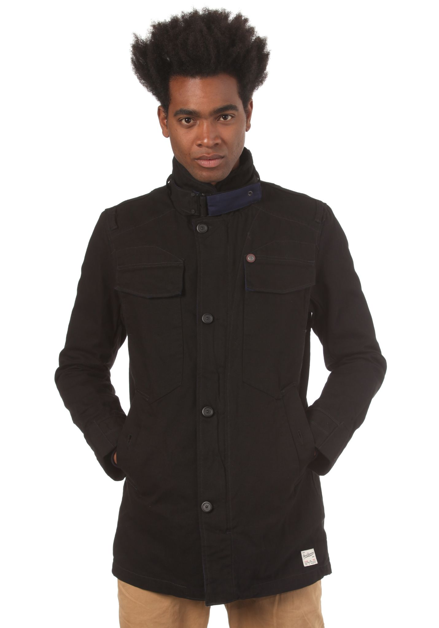 Jacket Garber Trench G Para Hombres Fleet Duck Chaqueta Star 7qEqtTUI