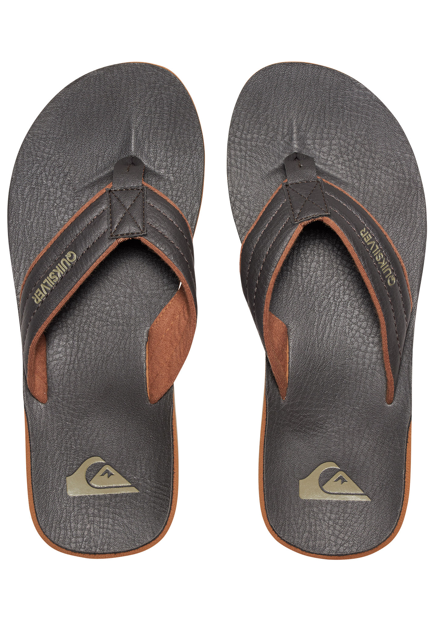 Tongs Planet Marron Carver Quiksilver Sports pour Nubuck Homme xZqTnxFCpP