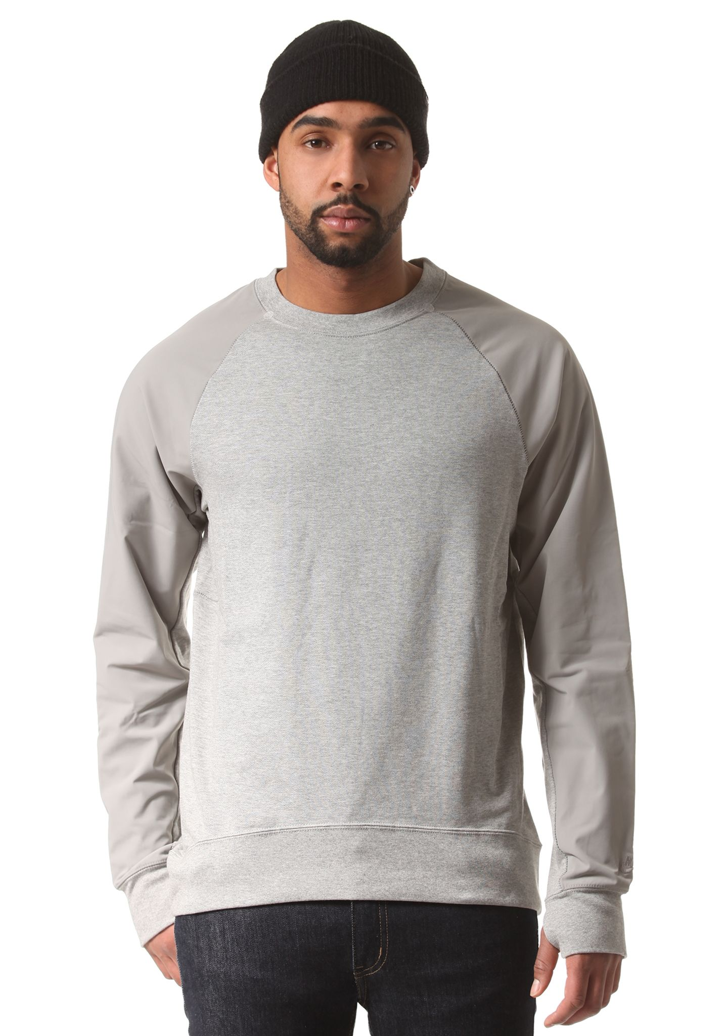 Sweat Pour Overlay Gris Planet Everett Nike Sb Sports Crew Homme 2DH9IYWE