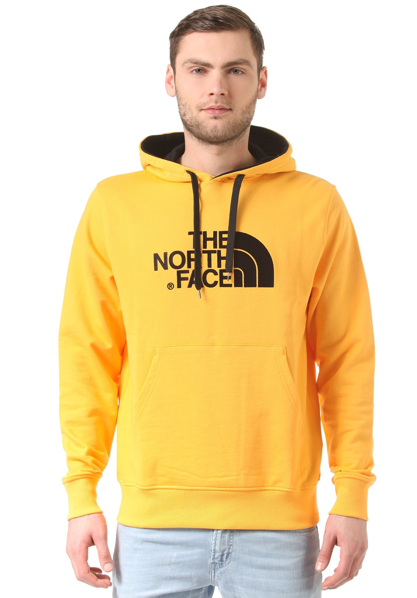 Top THE NORTH FACE Drew Peak - Sweat à capuche pour Homme - Jaune  TV06