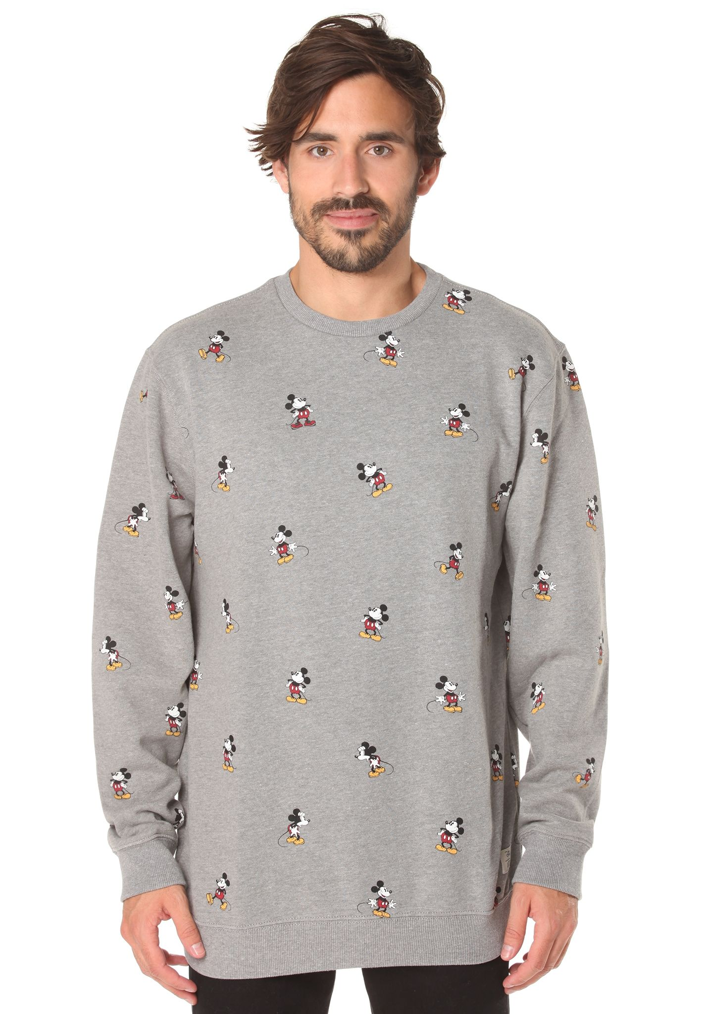 Sudadera Mickey Hombres Sports Planet Vans Para Gris Mouse gEWqOT