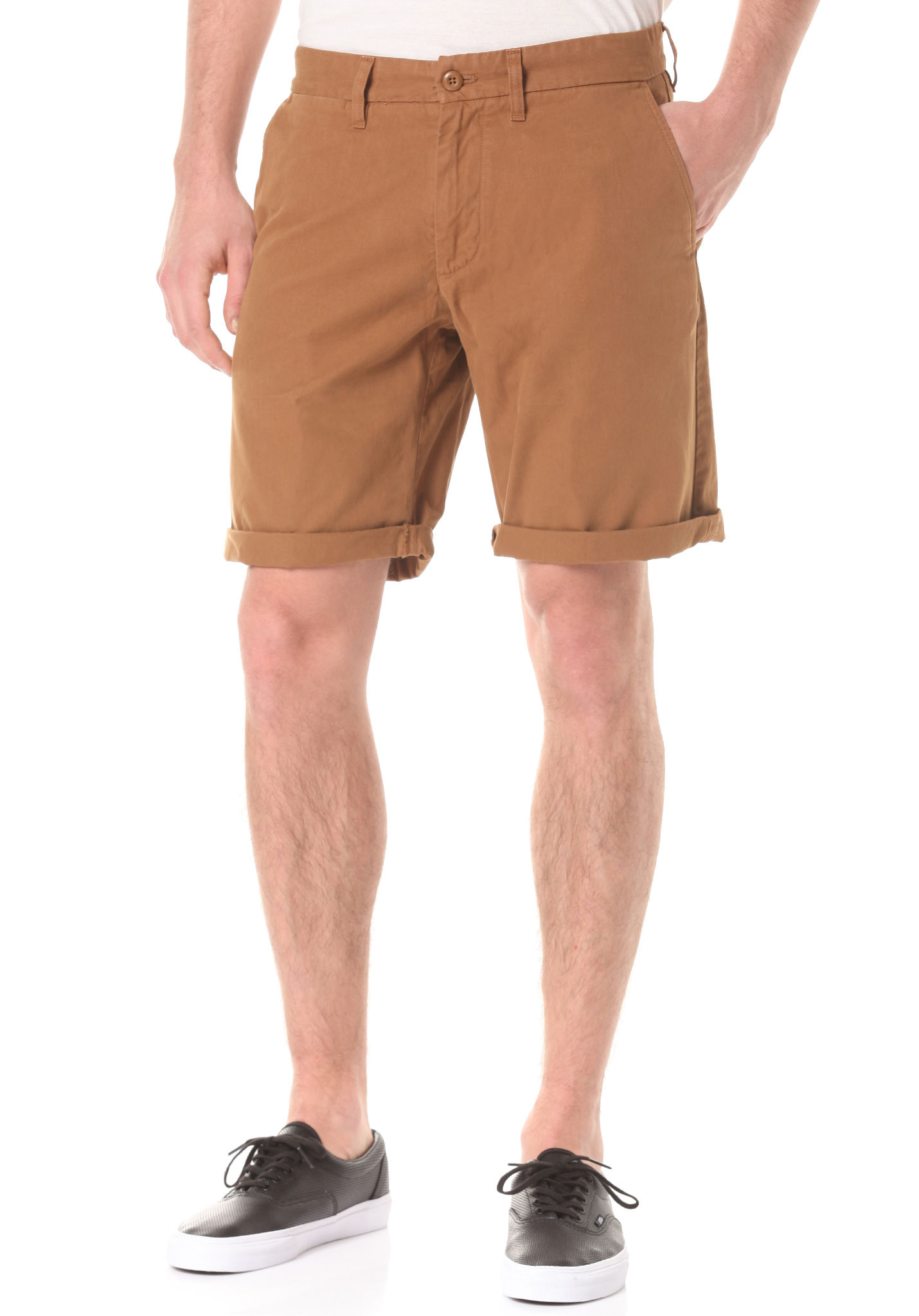 7618765e458c98 Carhartt Sports Pour Homme Wip Marron Planet Chino Johnson Short f8rqf
