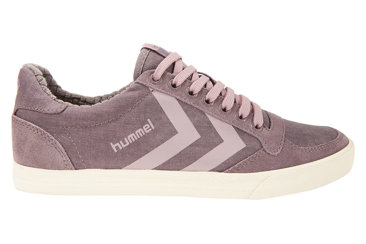 Pink Waxed For Herringbone Stadil Women Sl Sneakers Low Hummel OqZwaa
