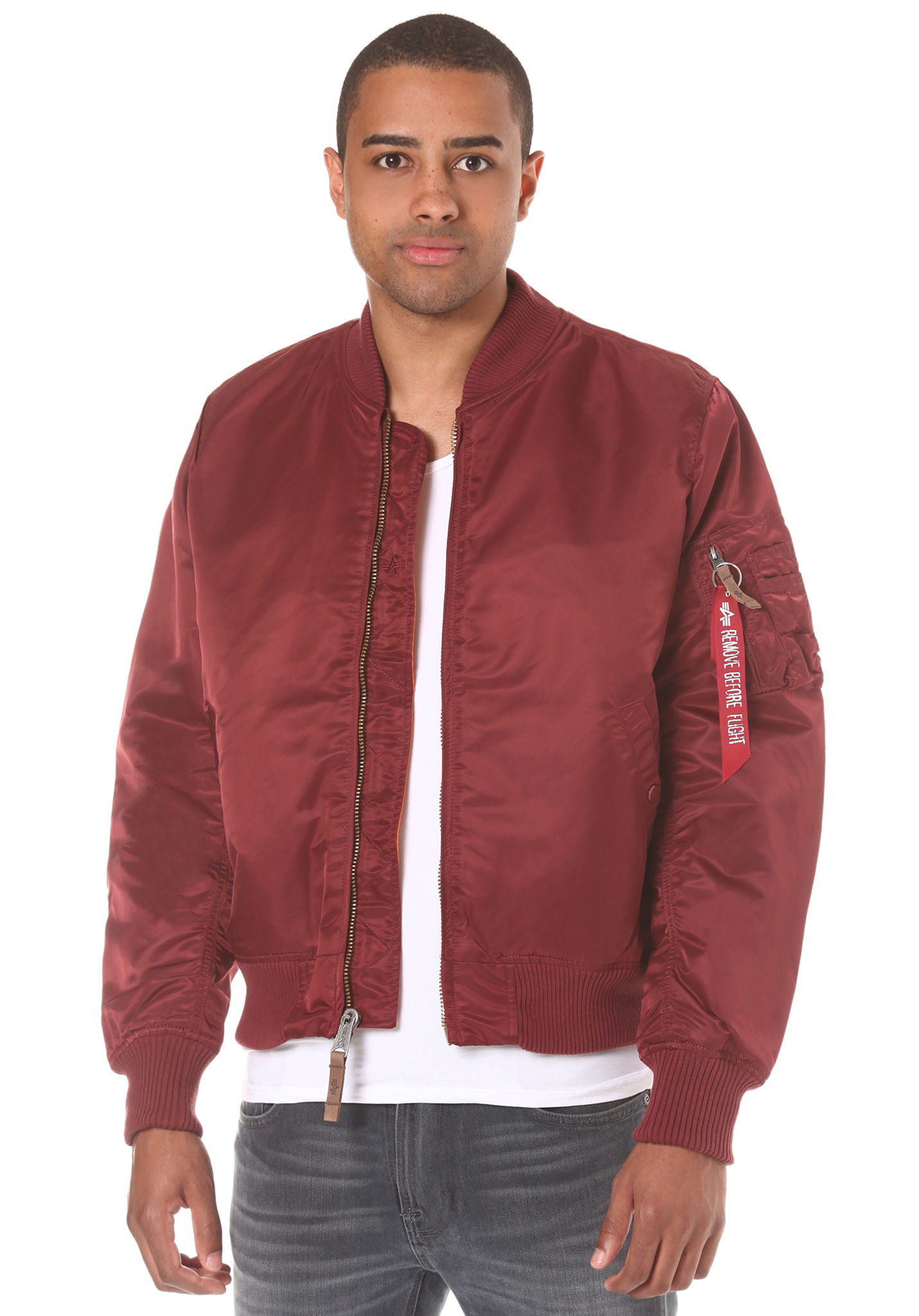 Veste Rouge Sports Vf Homme Planet Alpha 59 Ma 1 Industries Pour xHRfqXw6
