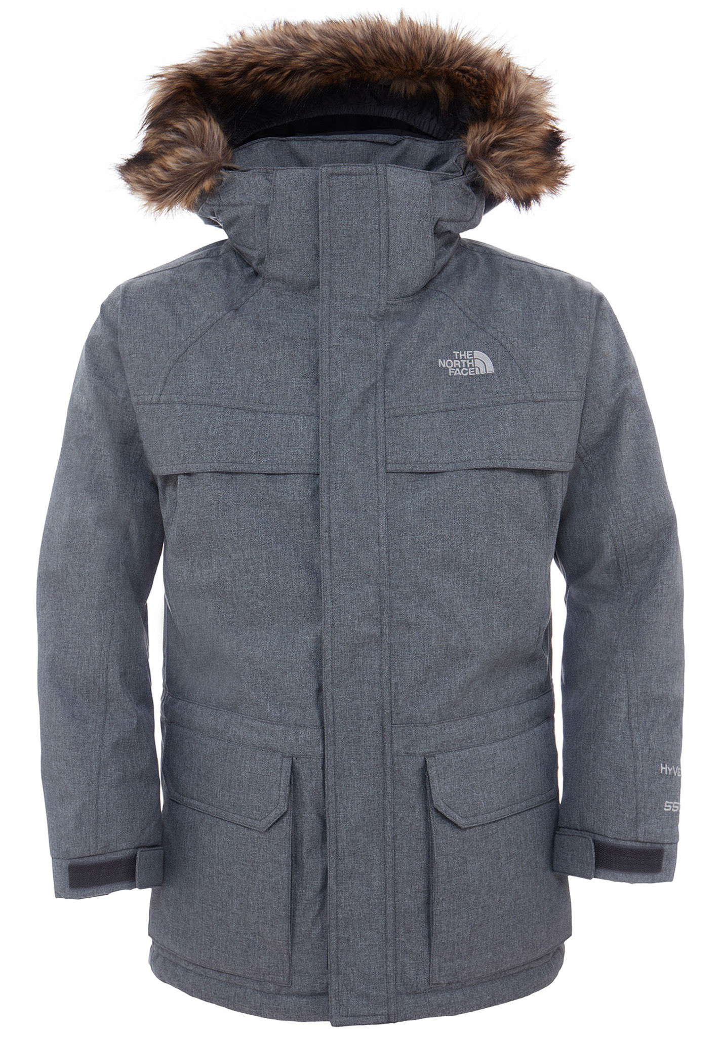The Giacca Grigio Outdoor Mcmurdo Bambini North Face Per Down UZwU4nqC
