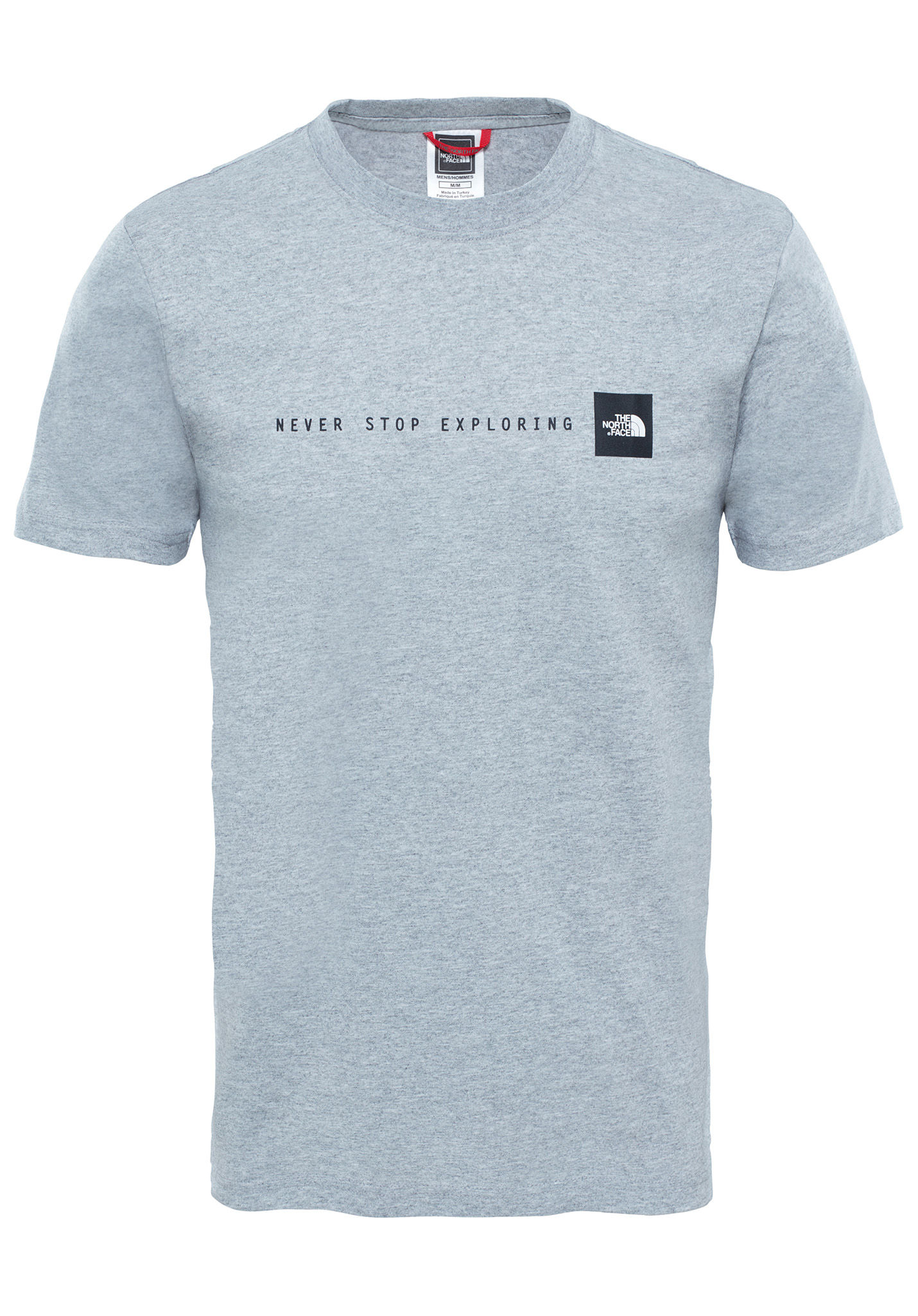 Stop Face Never The Camiseta North Para Hombres Gris Exploring nXNw8OPZ0k