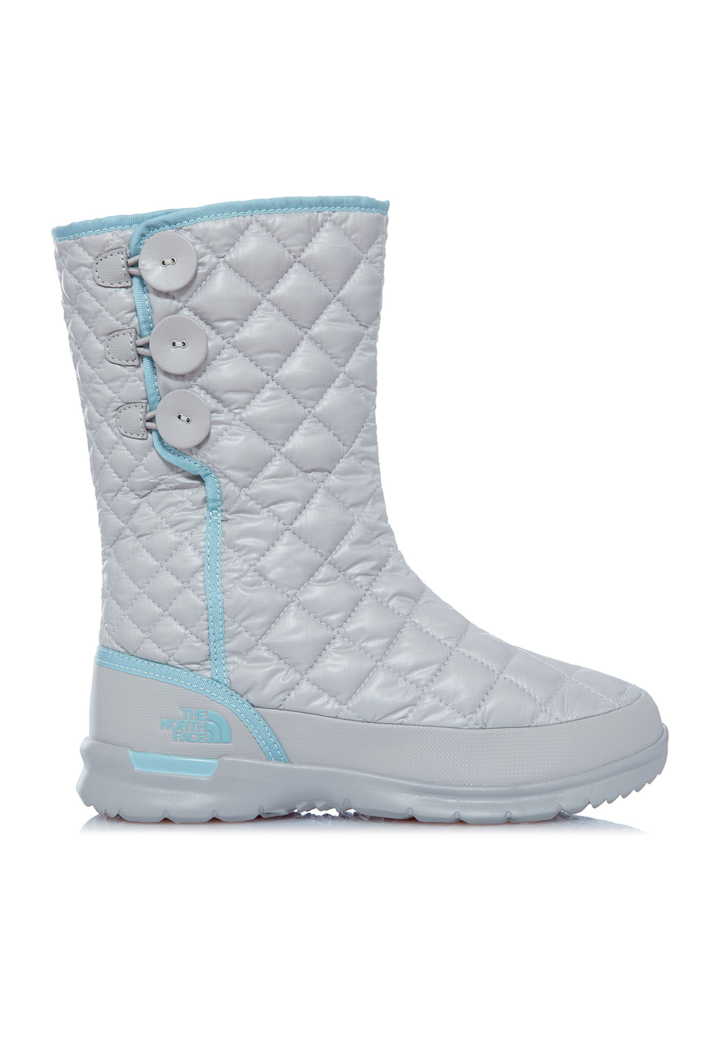 Face Thermoball Up Bottes Femme North Button Gris The Pour 4ZxwRvaq