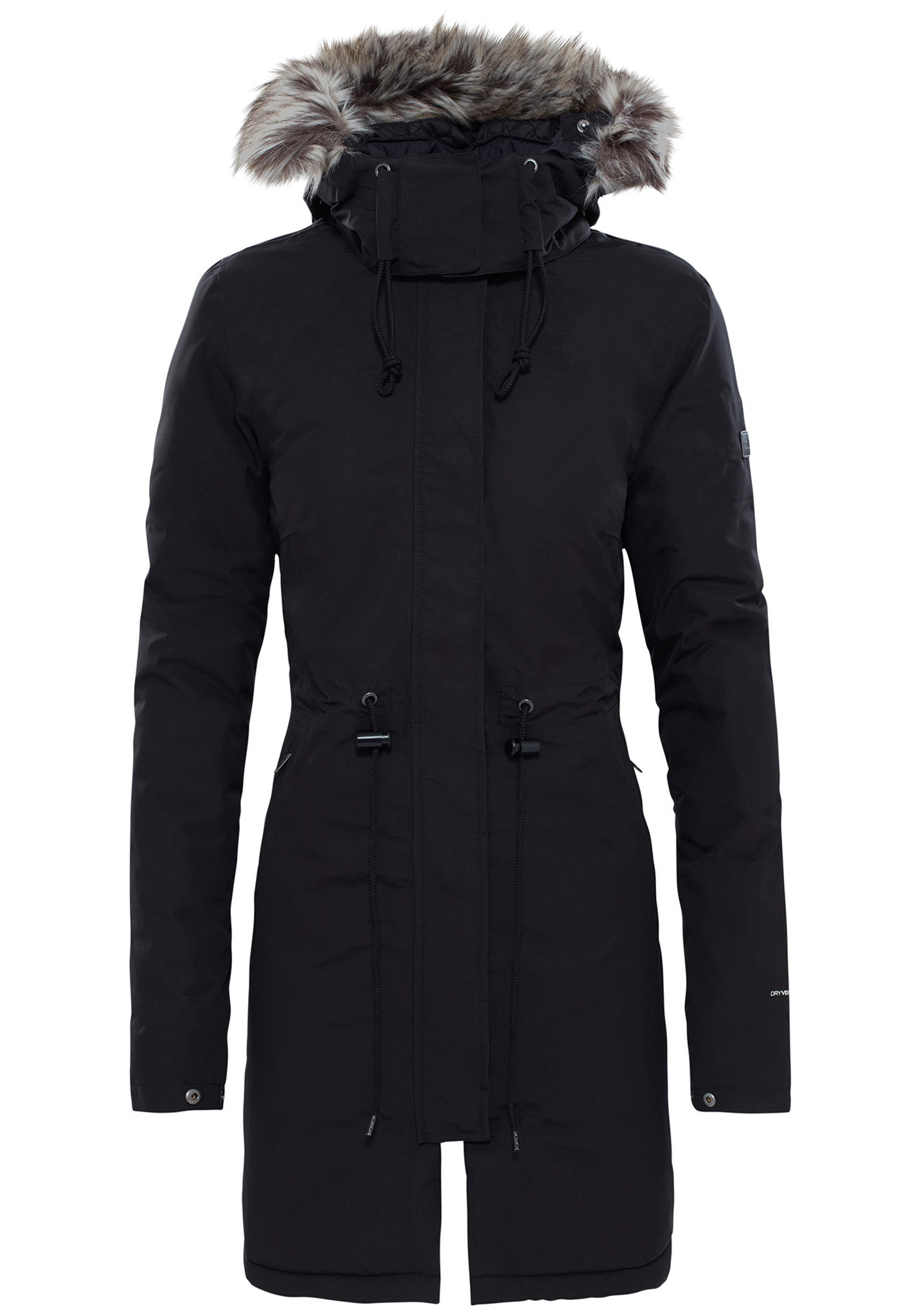 Pour Zaneck North Femme Manteau The Noir Face CoxedBr