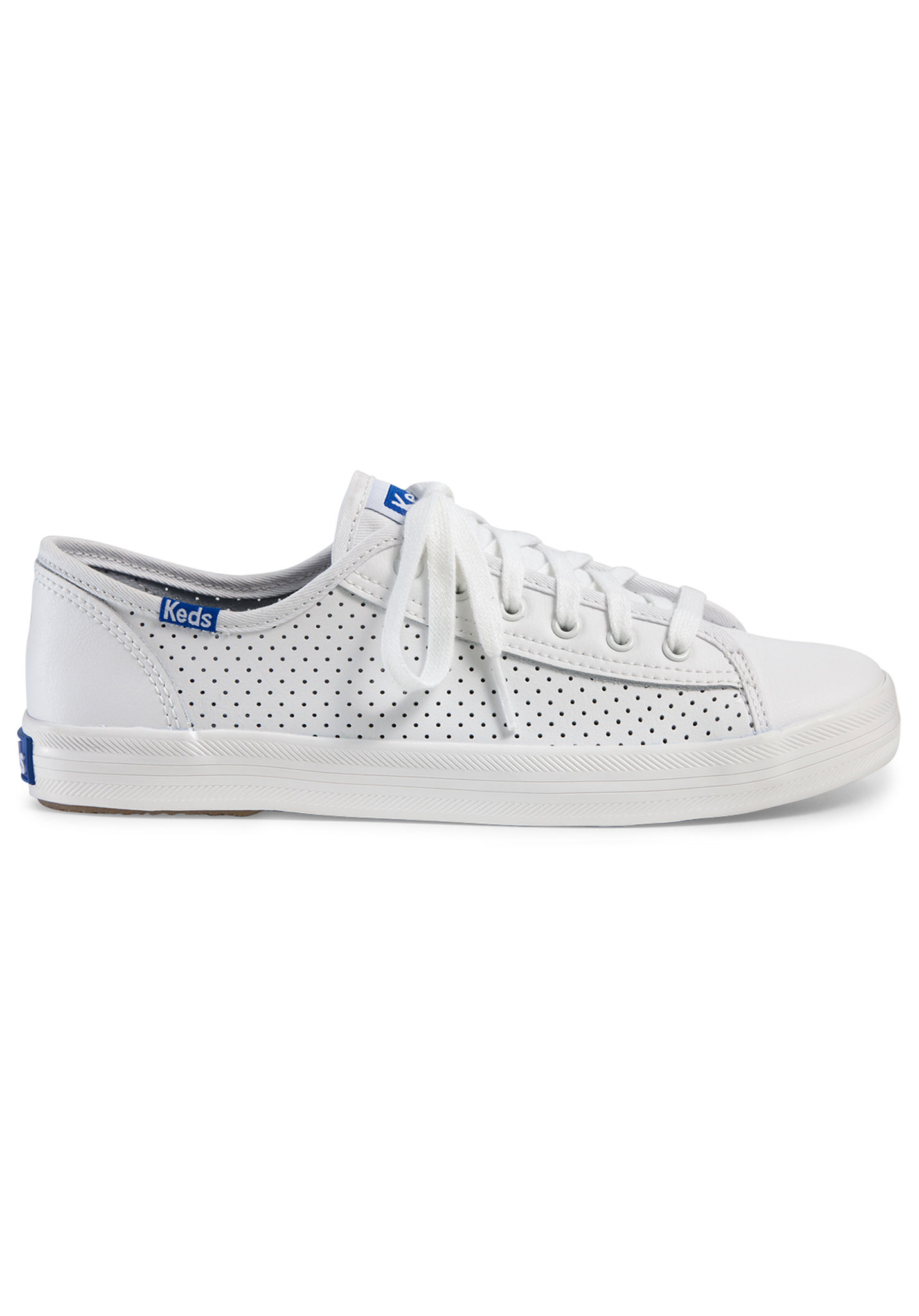 Planet Retro Sneakers White Perf Women Lea Kickstart Keds For H7q85Hn