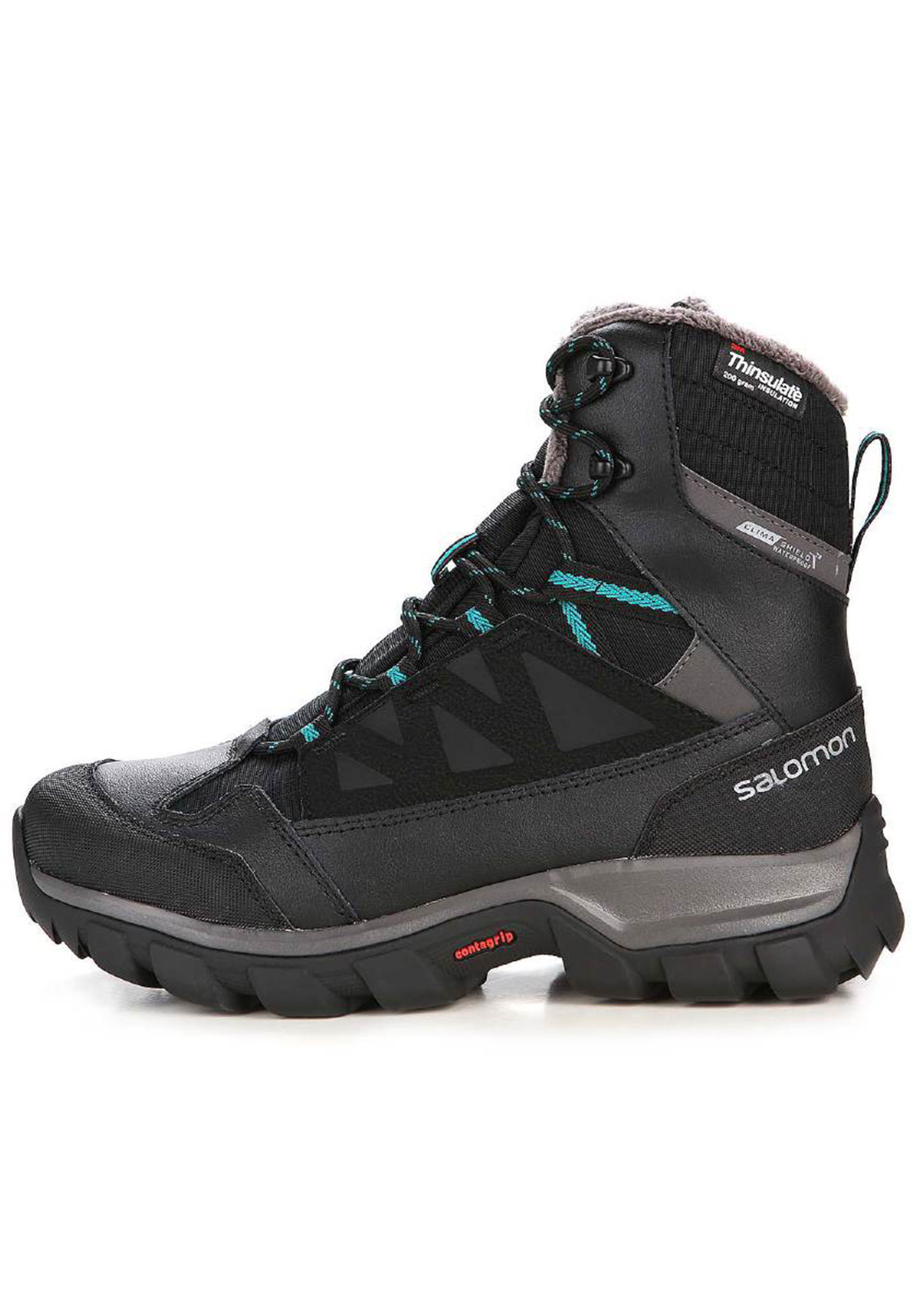 f6a5fd1a7333 For Planet Salomon Trekking Chalten Women Ts Black Cswp Shoes X8gxR