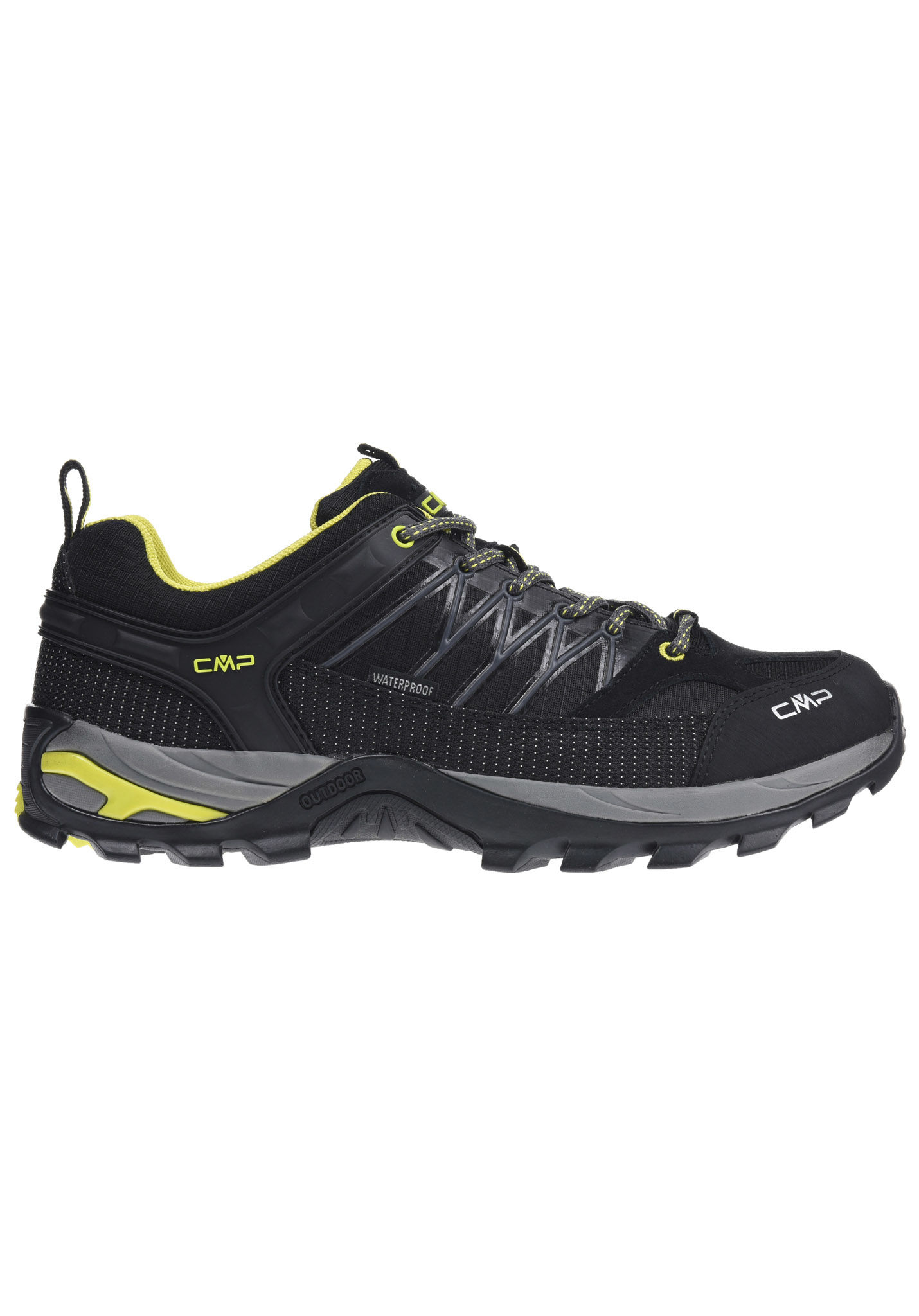 CMP RIGEL LOW SHOES WP - Hiking shoes - nero Rjttx
