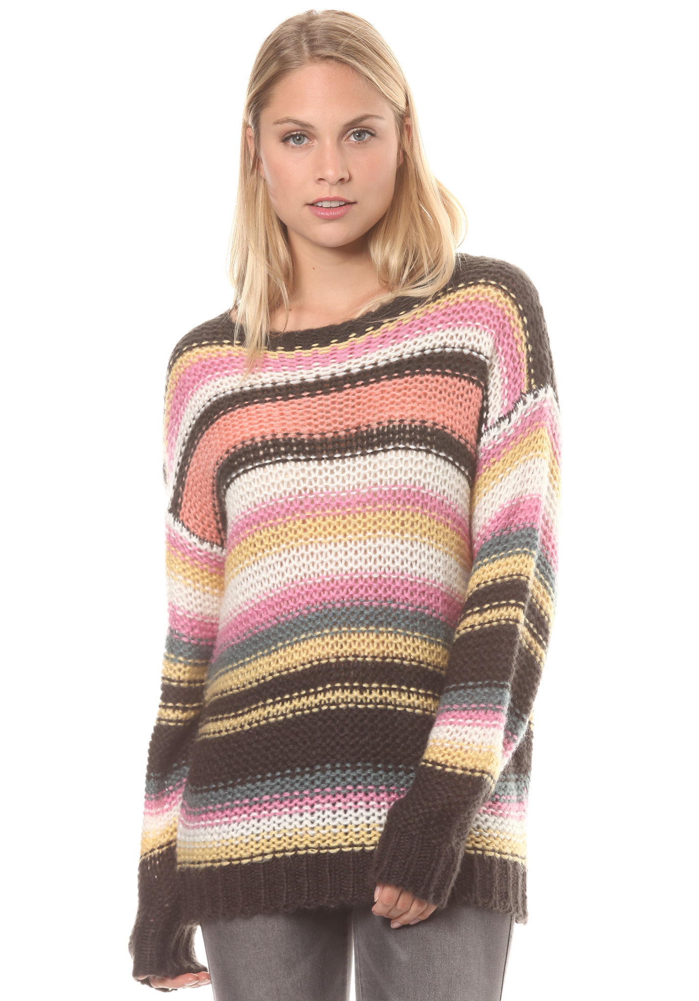 Planet Knitted Multicolor For Pullover Time Women Sports Billabong First xv7wq0FxA