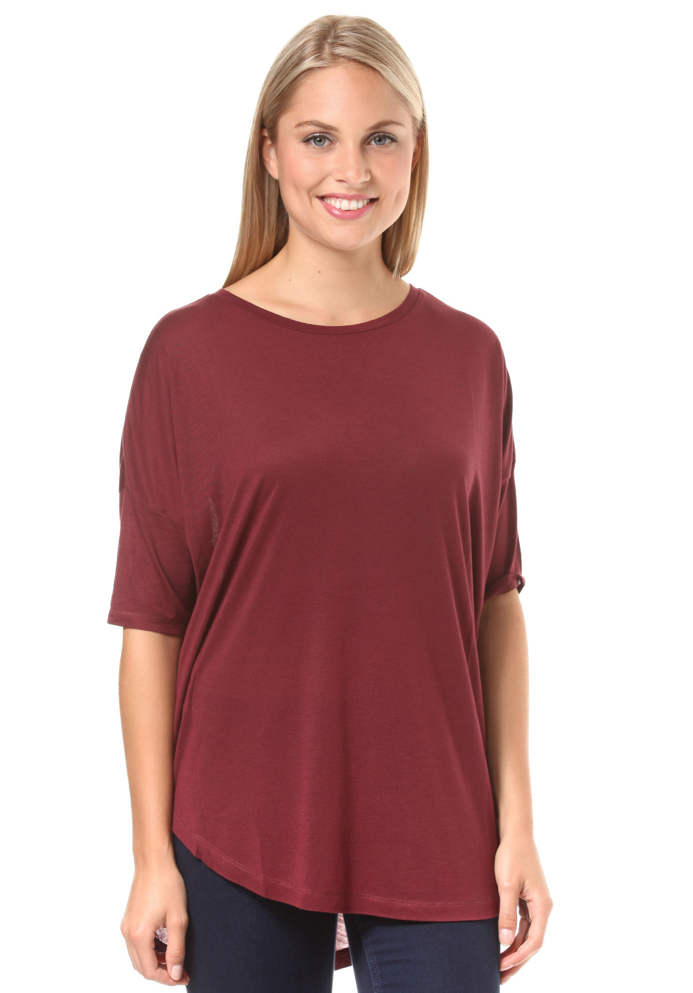 Shirt Os Pour Longues T Essentials Rouge À Femme O'neill Manches vn0OPy8wmN