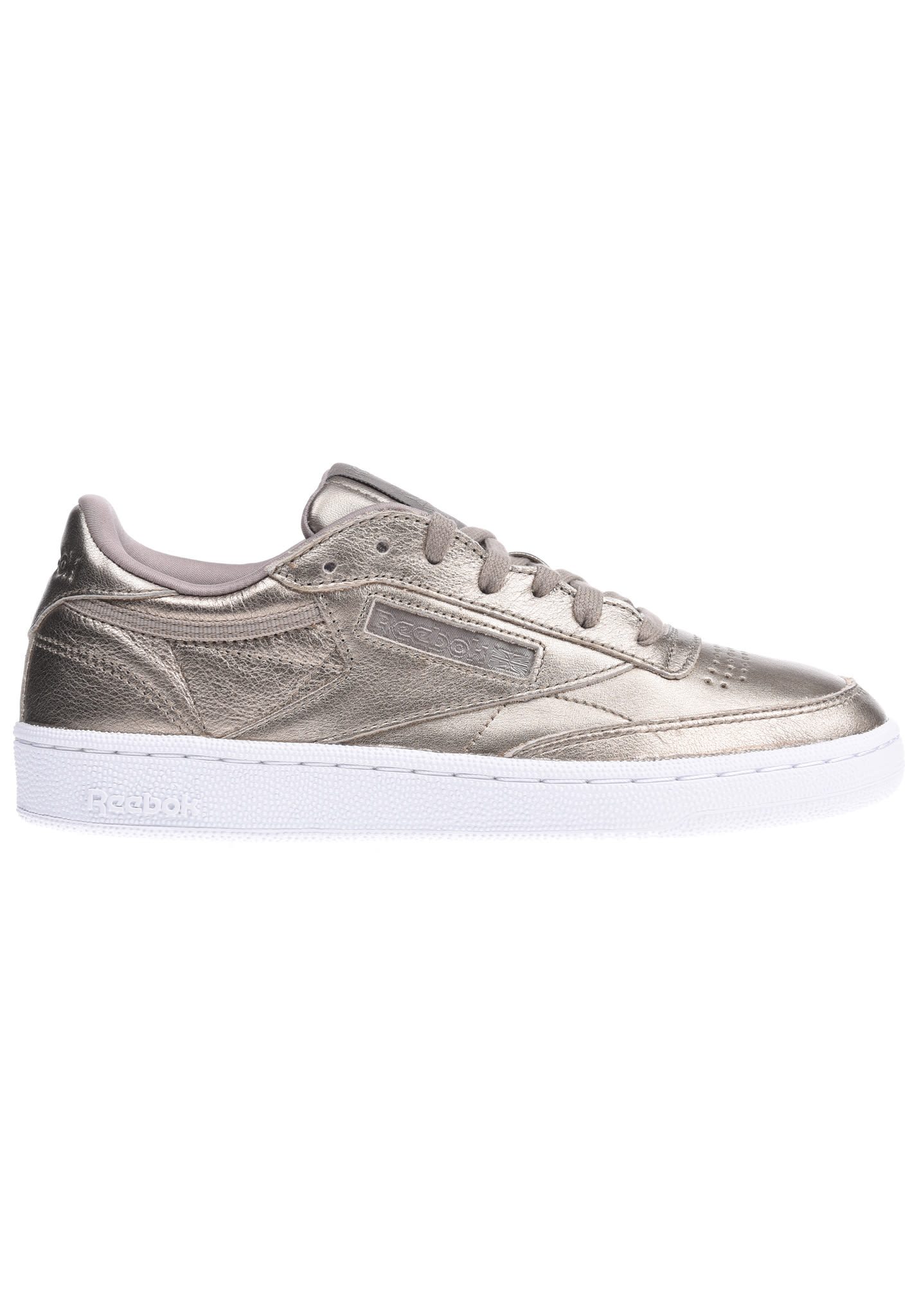 Or Reebok C 85 Baskets Melted Pour Metal Femme Club 4LRj53A