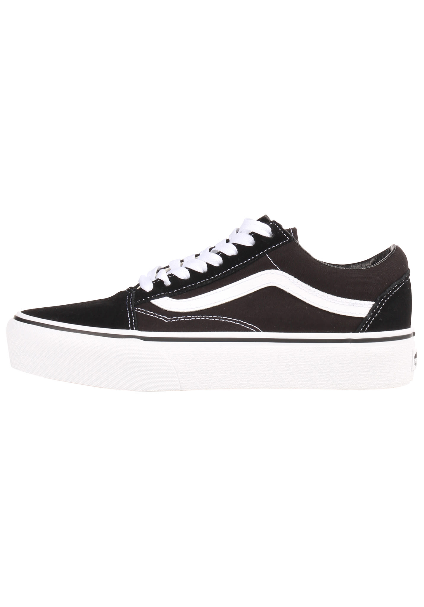Sports Old Planet Sneaker Skool Für Vans Schwarz Damen Platform 8q6wnSFx