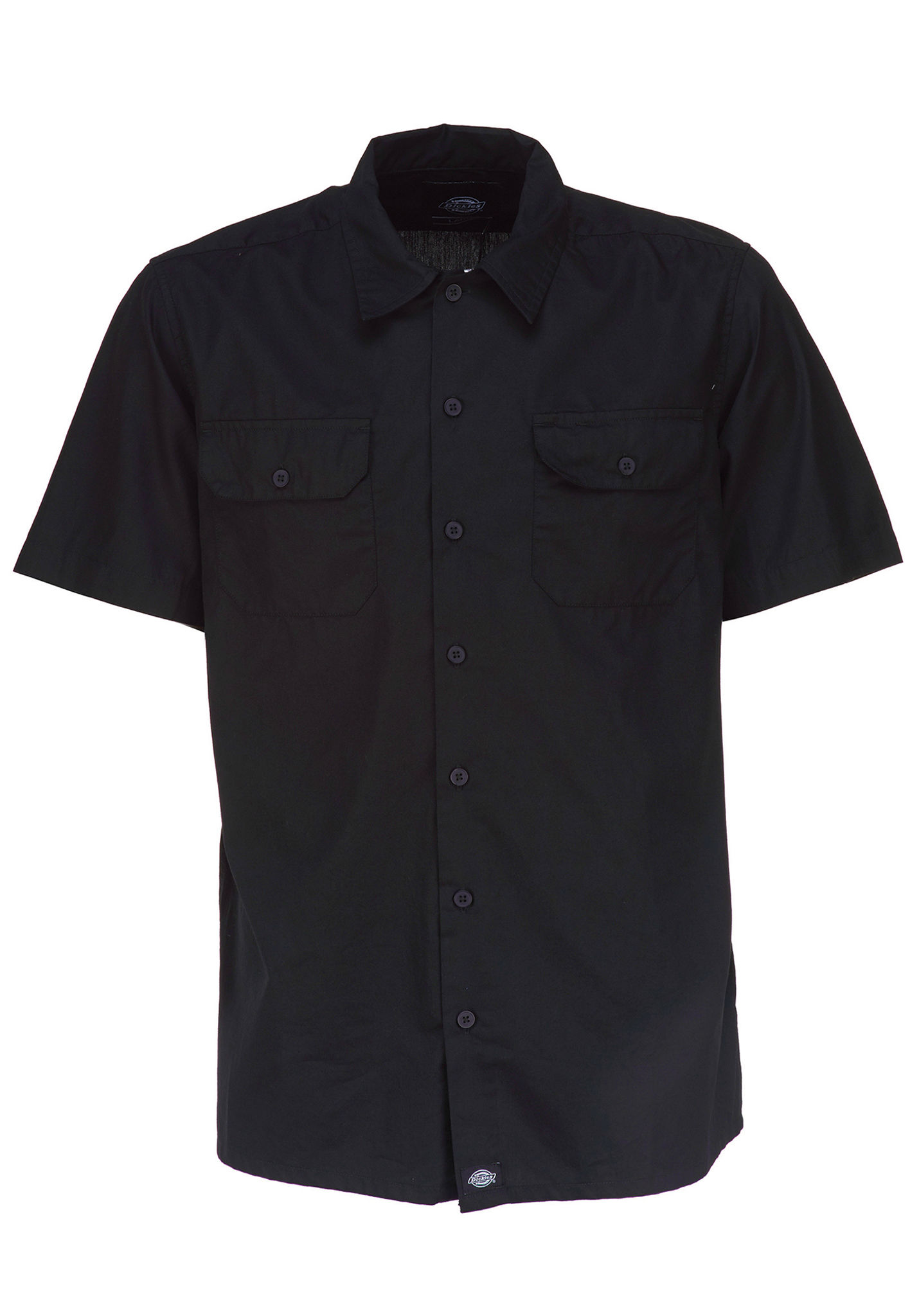Planet per Talpa Dickies Uomo Camicia Sports Nero dXPEnqOEp