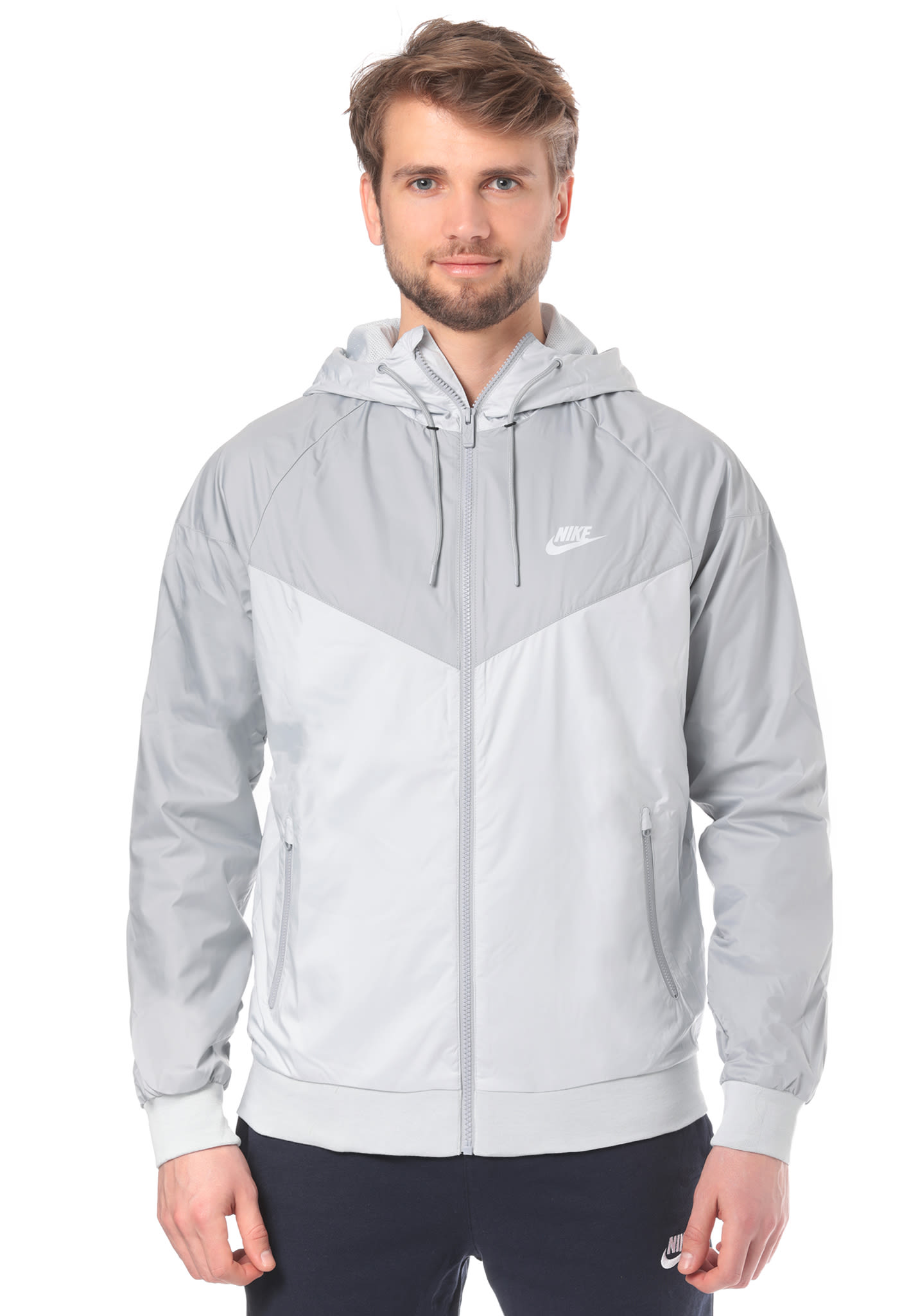 more photos 7adec e26b4 Homme Sports Pour Windrunner Nike Planet Gris Sportswear Ves