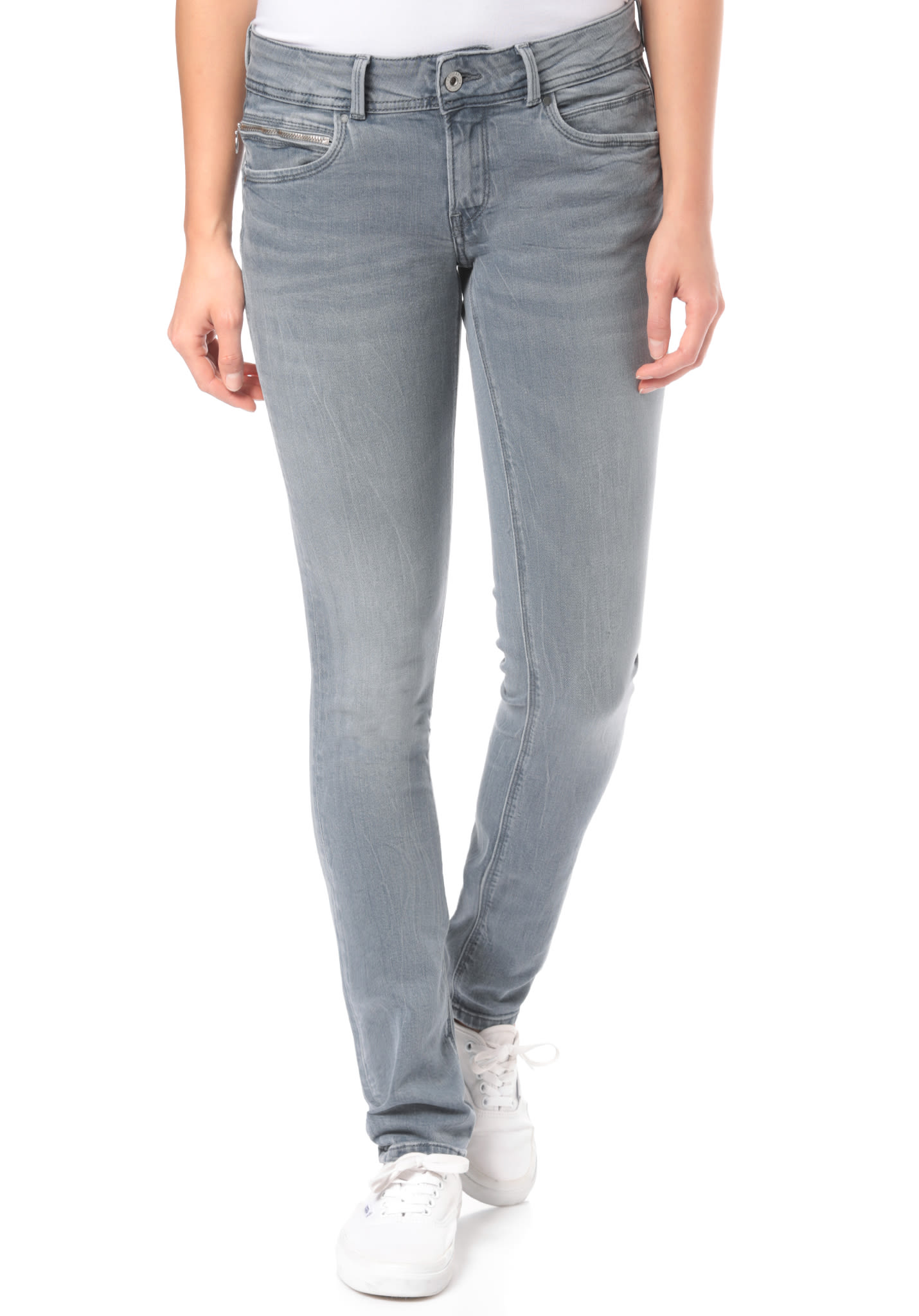Jeans New Para Mujeres Gris Pepe Vaqueros Brooke nvw8mN0