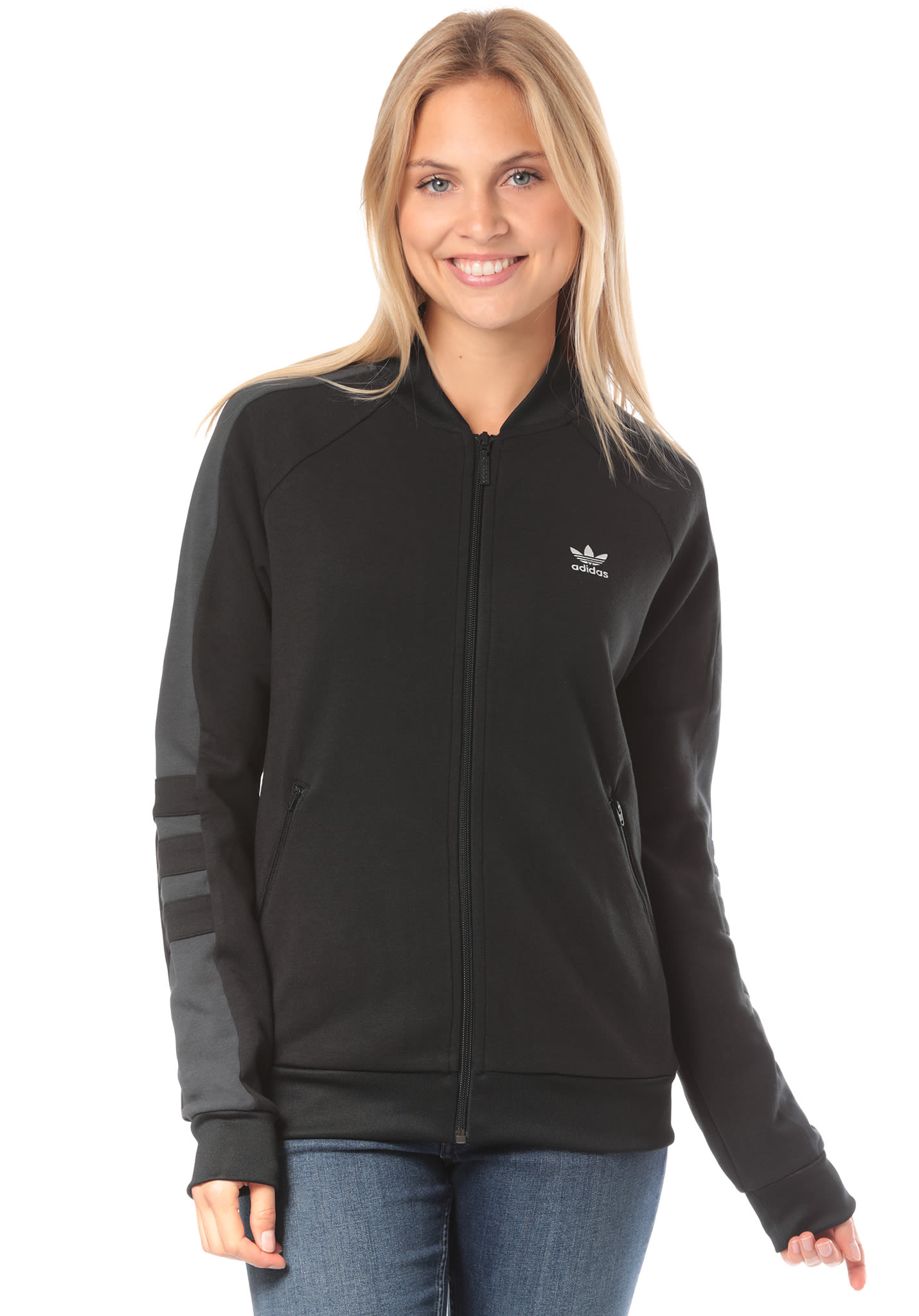 Black Track Originals Women For Sports Planet Adidas Top 7qwFZa