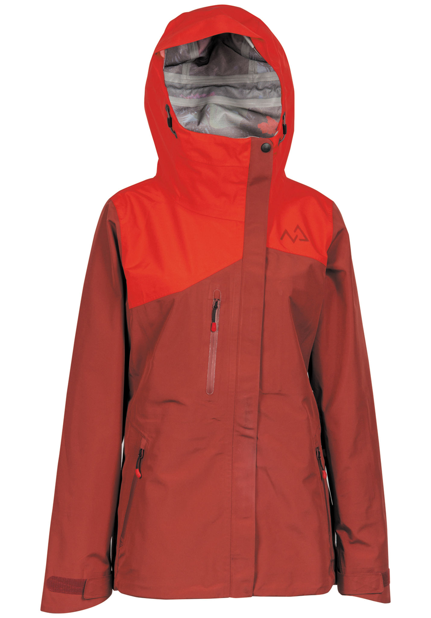 Planet Sports Giacca Nitro Per Palisades Rosso Snowboard Donna Zw161g ee1fa536fdc