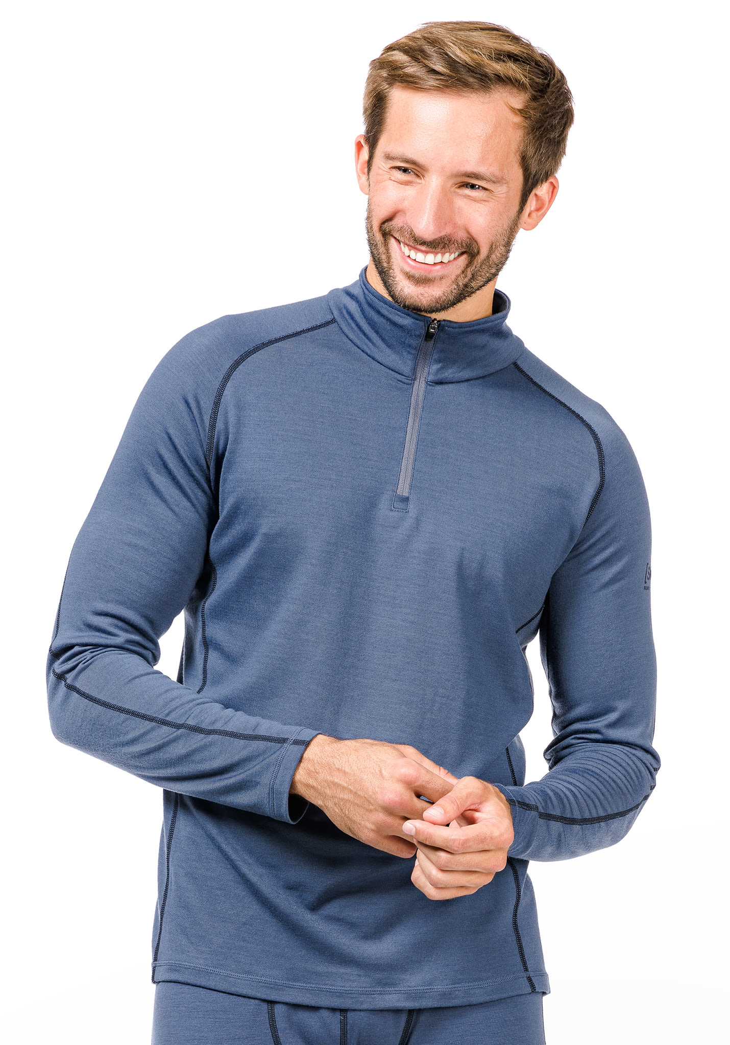 Camiseta 230 Para natural 14 Hombres Super Zip Base Térmica IAwPBI4Xq