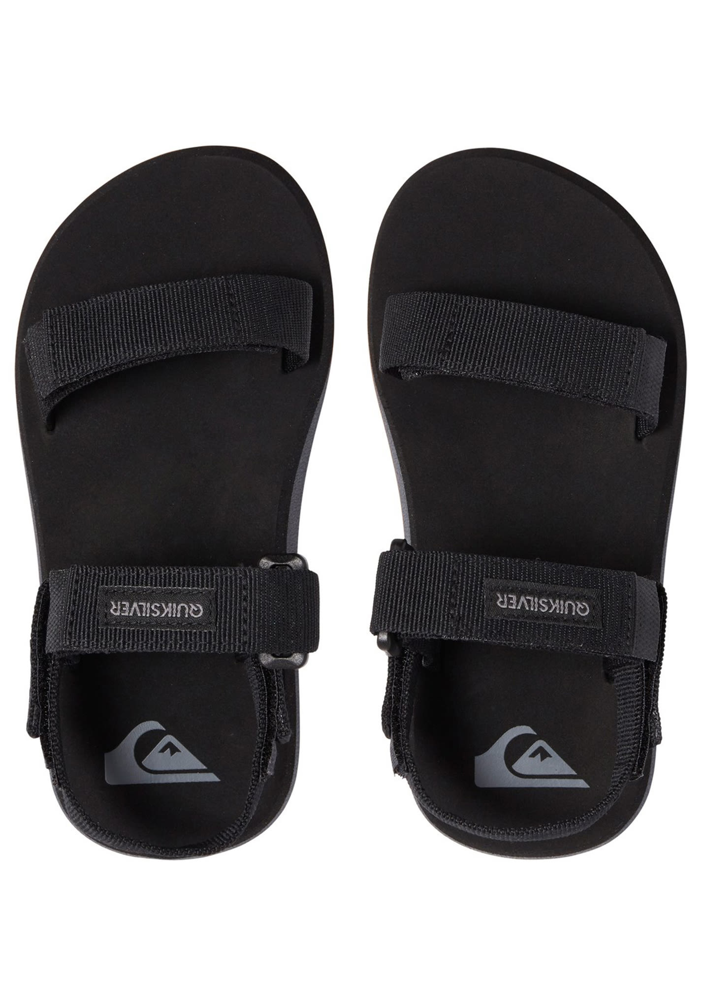 Sandals Kids Quiksilver Black Caged For Boys Monkey EIH29WD