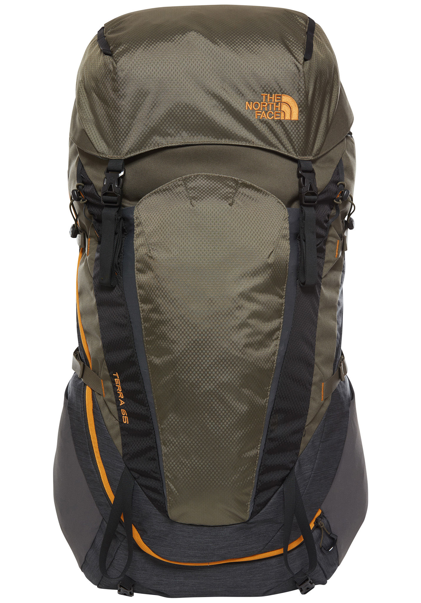 65l Verde Face Mochila Terra The North fgY67by