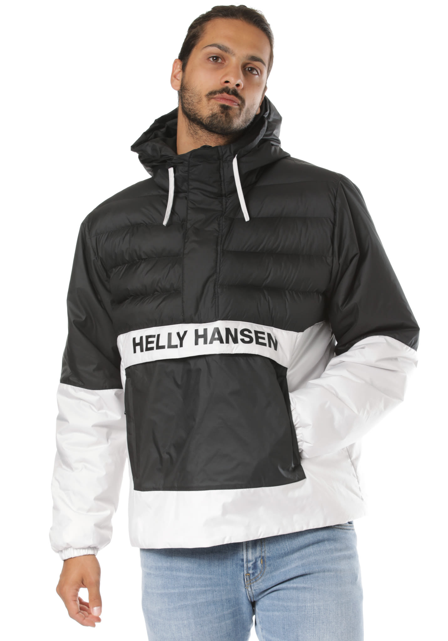 Quilted Men Black P Hansen amp;c Helly Jacket For roedxWCB
