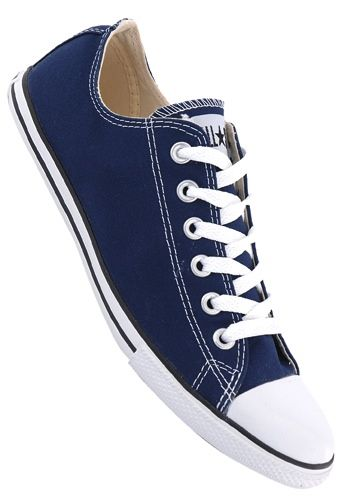Converse Chuck Taylor All Star Slim Ox Canvas - Sneakers for Men - Blue -  Planet Sports 27c9b9540