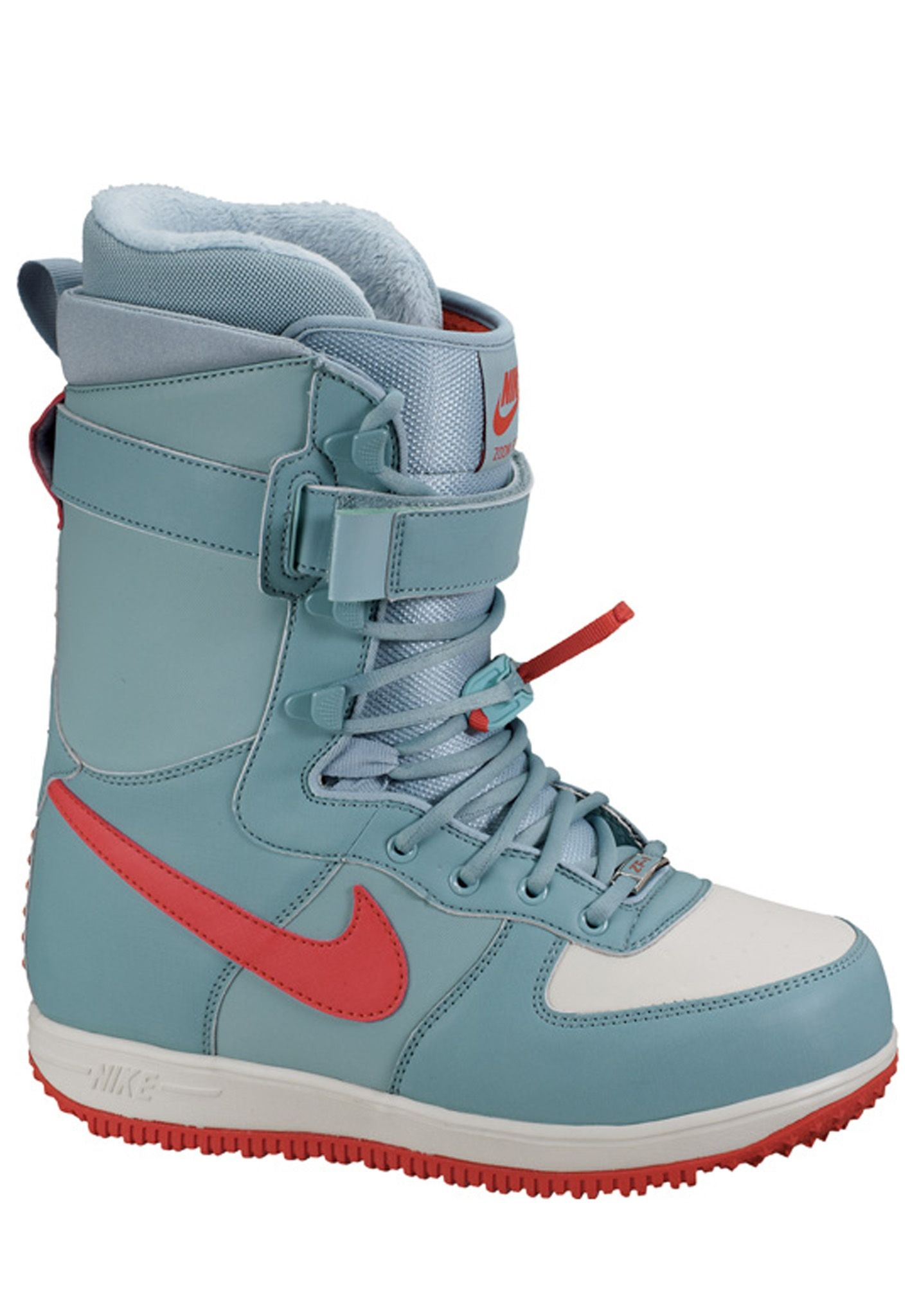3ce105459e NIKE SB Zoom Force 1 - Snowboard Boots for Women - Grey - Planet Sports