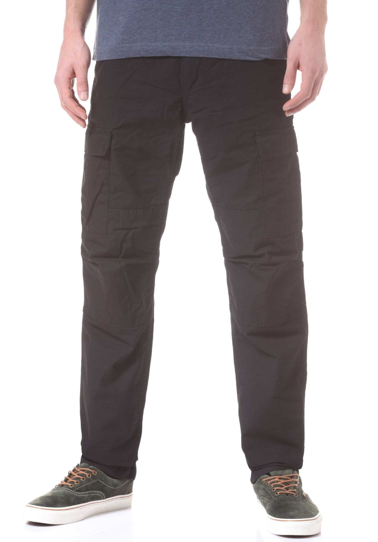 8f9d88acb9 carhartt WIP Aviation - Cargo Pants for Men - Black - Planet Sports