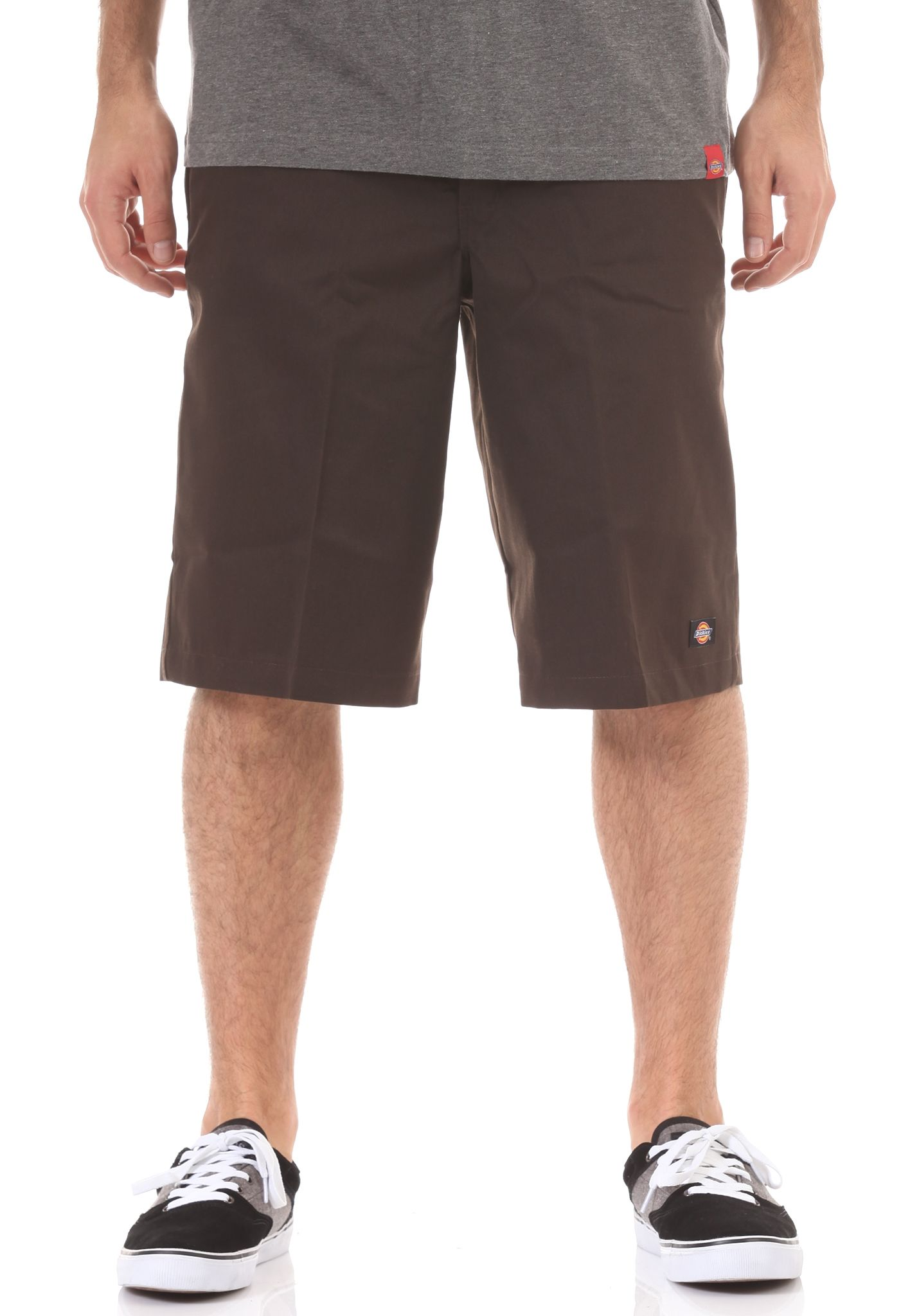 Dickies 13in Mlt Pocket - Chino Shorts for Men - Brown - Planet Sports