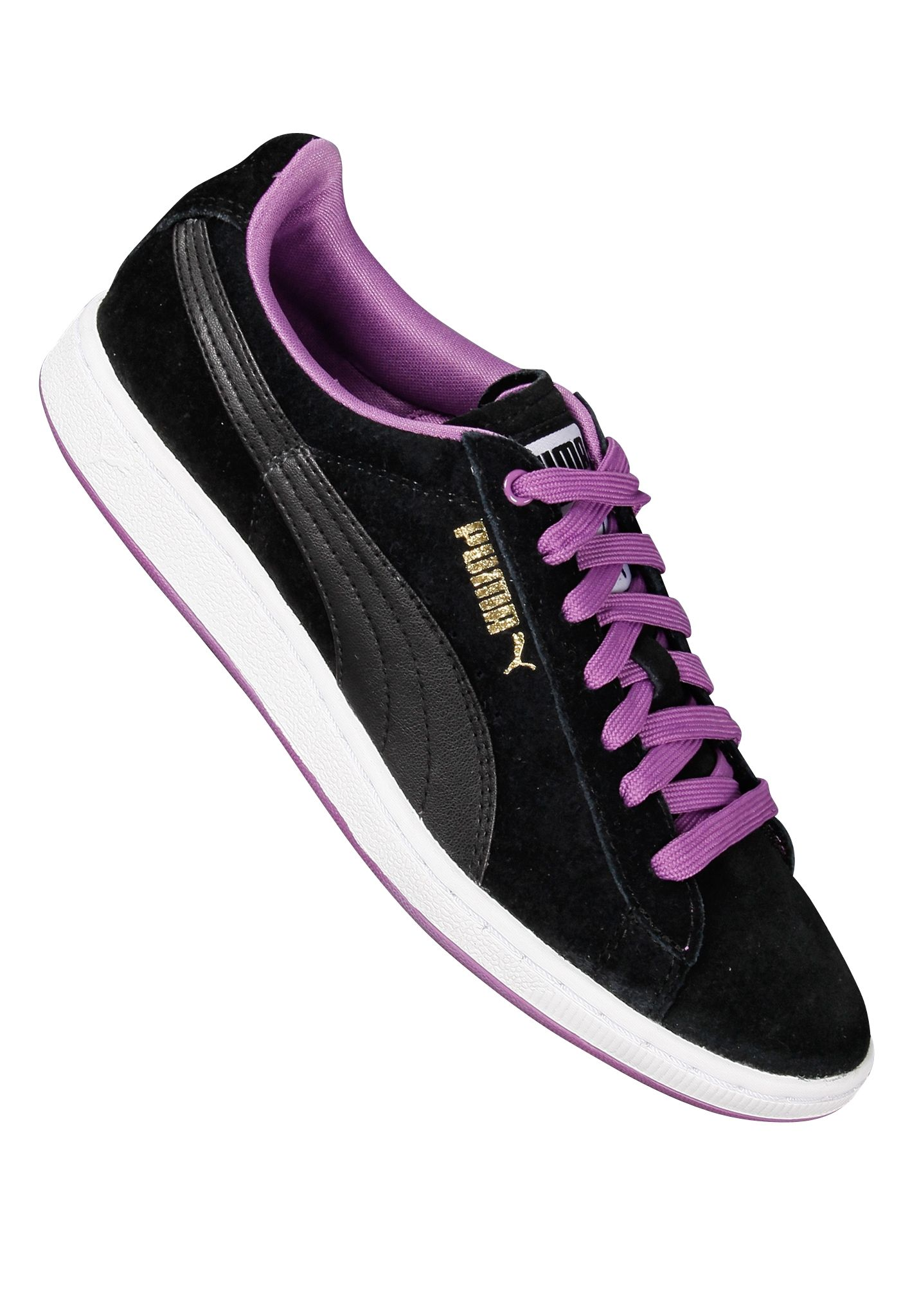 Puma Supersuede Eco - Sneakers for Women - Black - Planet Sports 4ef78a562
