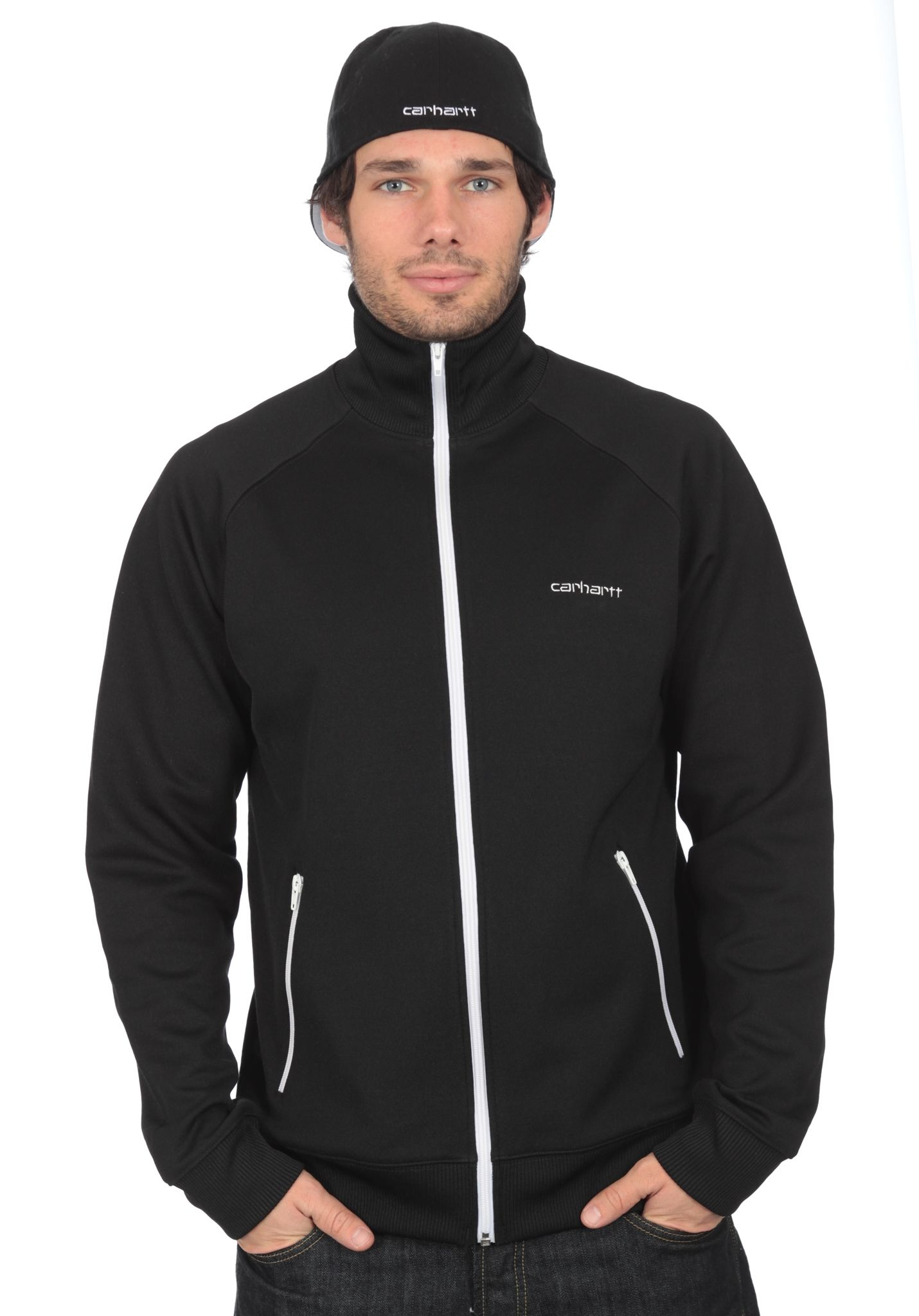 ac98232dc22e Carhartt WIP Gym Jacket - Sweatjacke für Herren - Schwarz - Planet Sports