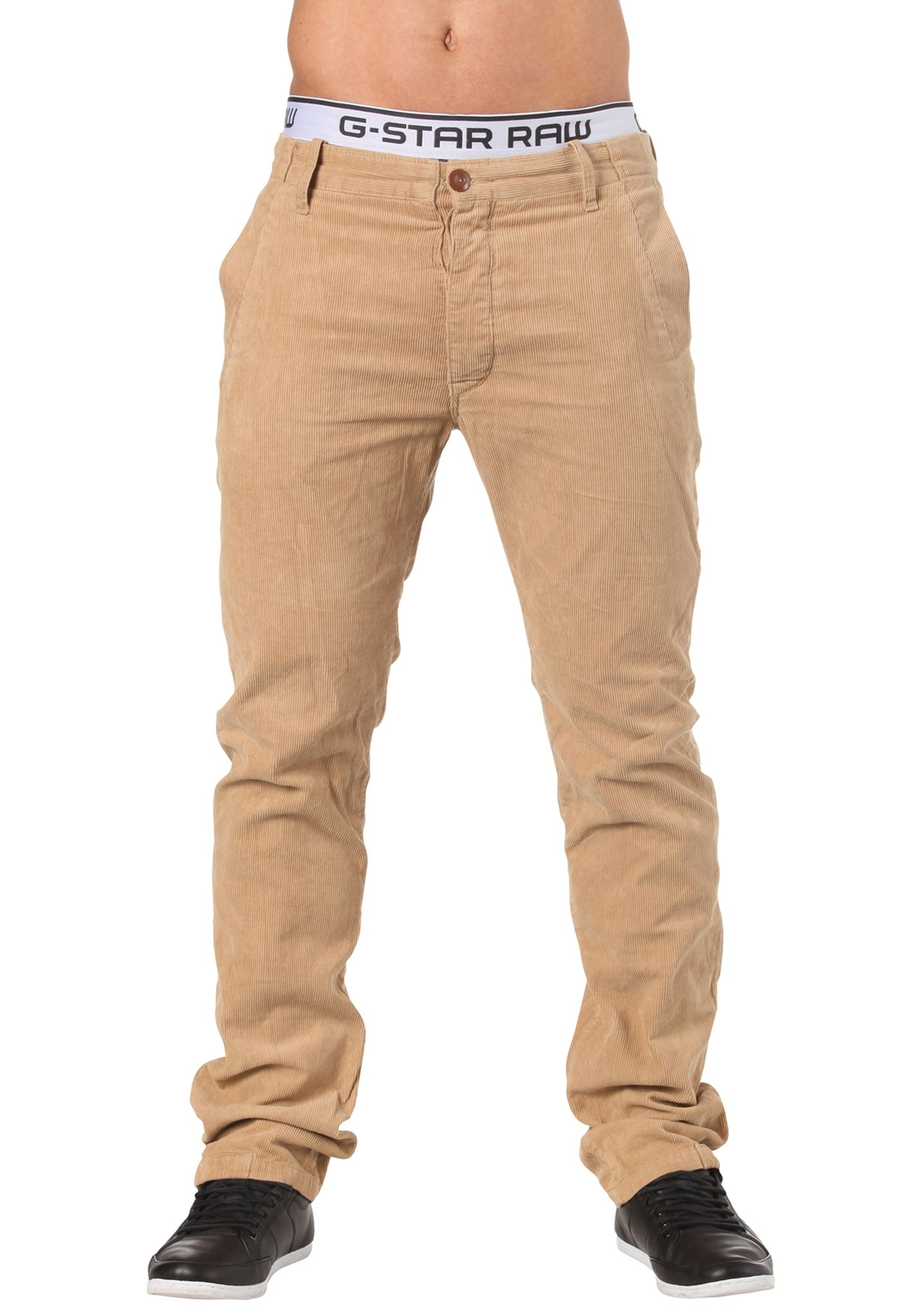 G-STAR CL New Bronson Chino Tapered Pant - Denim Jeans for Men - Khaki Beige  - Planet Sports 5c83756431b6b