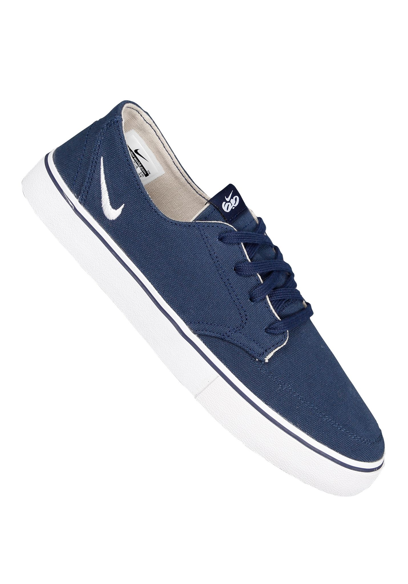 huge discount 07bad a49bc NIKE SB Braata LR Canvas - Sneakers for Men - Blue - Planet Sports