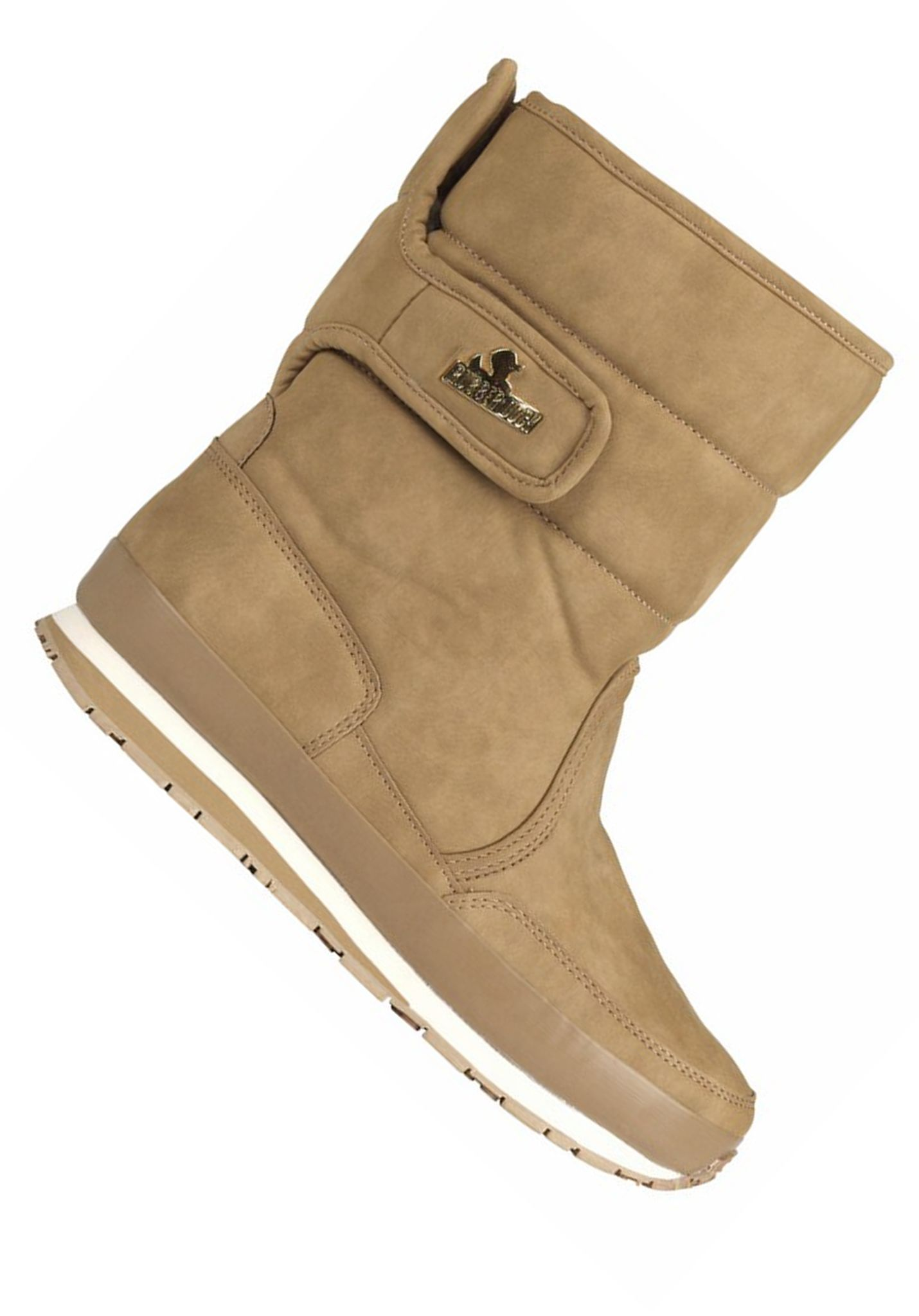 RUBBER DUCK Snow Jogger Synth Nubuck - Boots for Women - Khaki/Beige ...