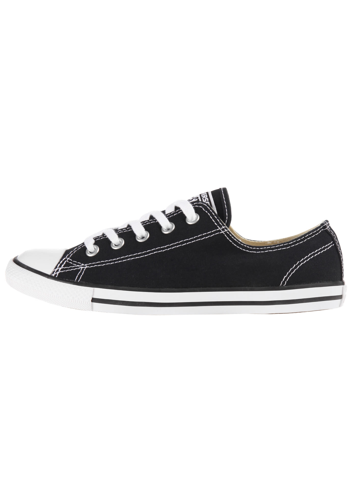 ca3aa82b9c87 Converse Chuck Taylor All Star Dainty Ox - Sneakers for Women - Black -  Planet Sports