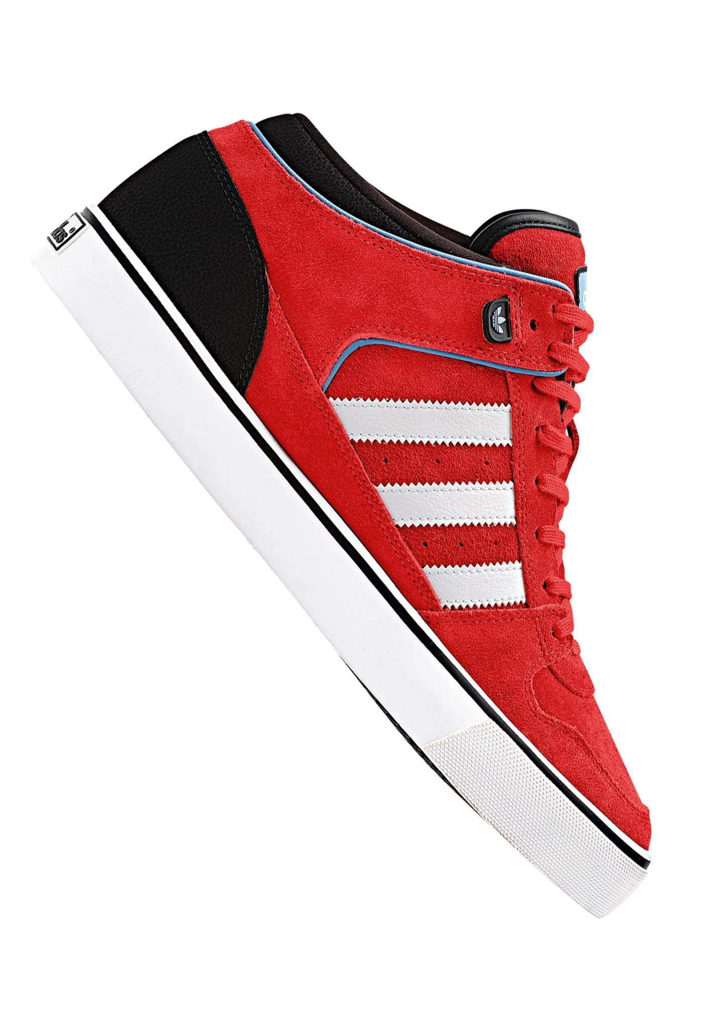 pretty nice 26451 b4755 ADIDAS Culver Vulc Mid core - Sneakers for Men - Red - Plane