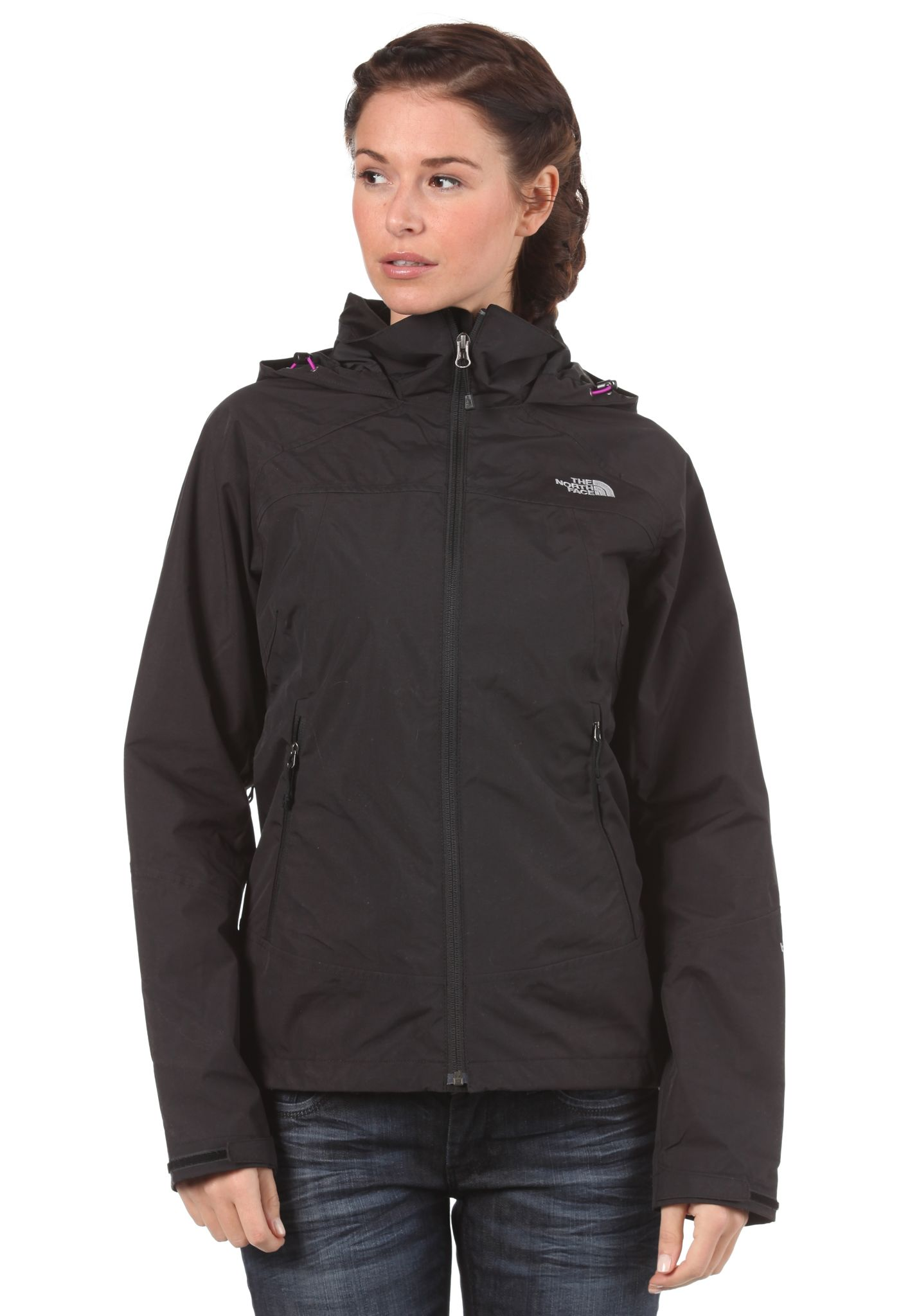 c96f3dccc316 THE NORTH FACE StraTos Jacket - Functional Jacket for Women - Black - Planet  Sports