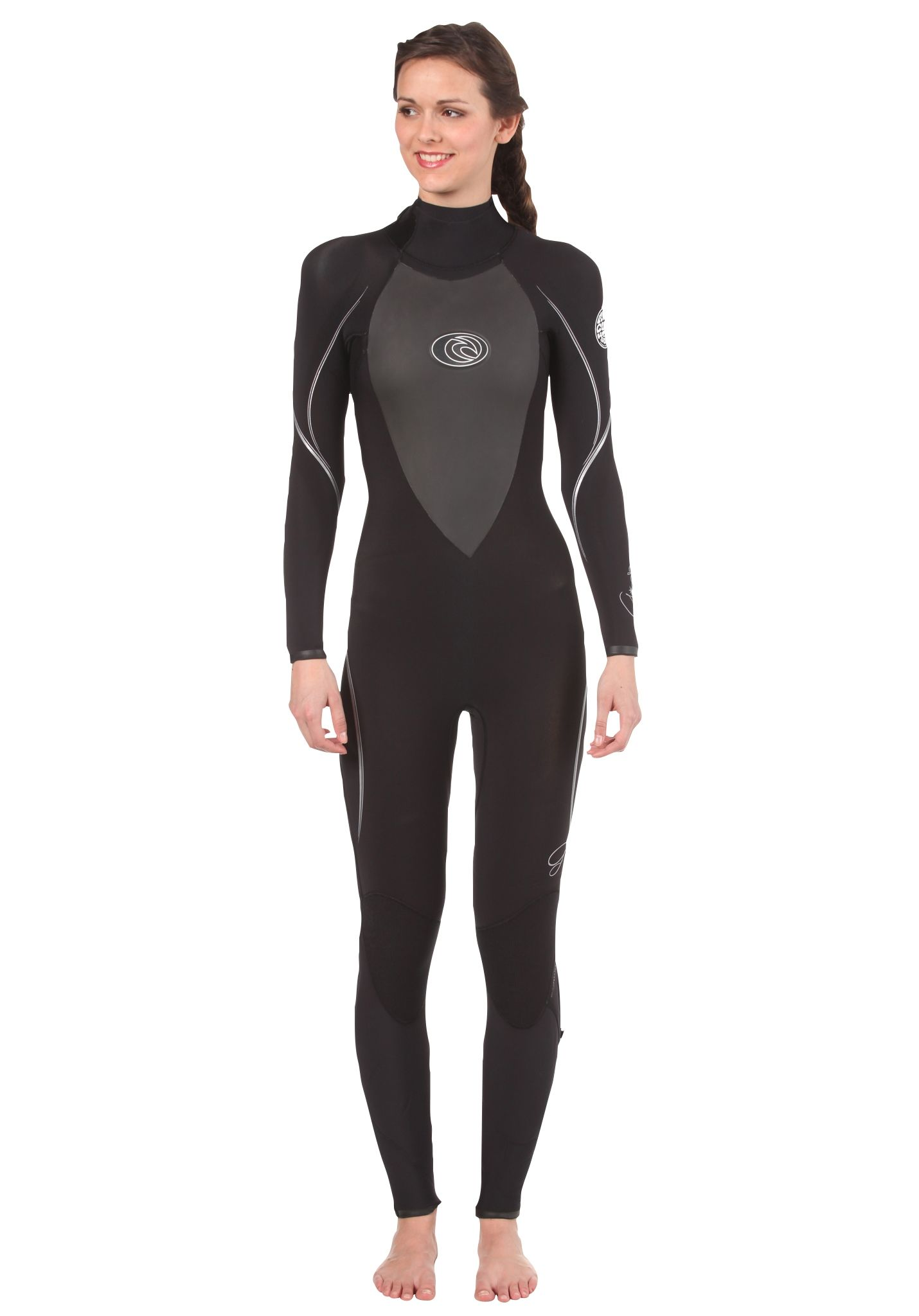 Rip Curl G Bomb 4 3 Steamer - Wetsuit for Women - Black - Planet Sports 00223cd36